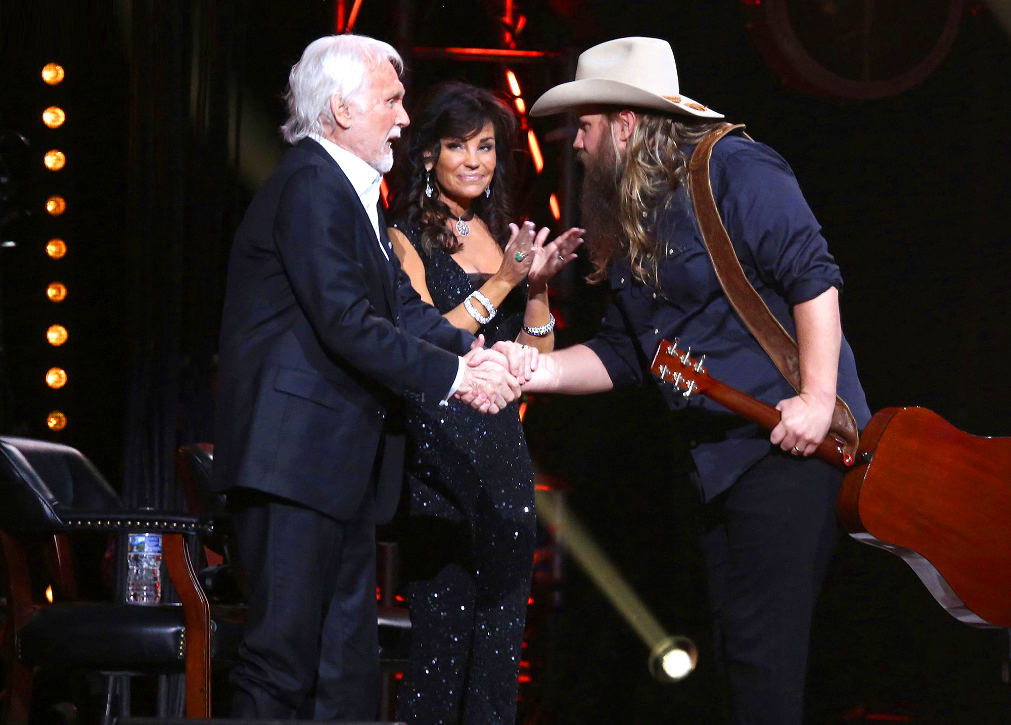 All In for the Gambler: Kenny Rogers' Farewell Concert Celebrati, Nashville, USA - 25 Oct 2017