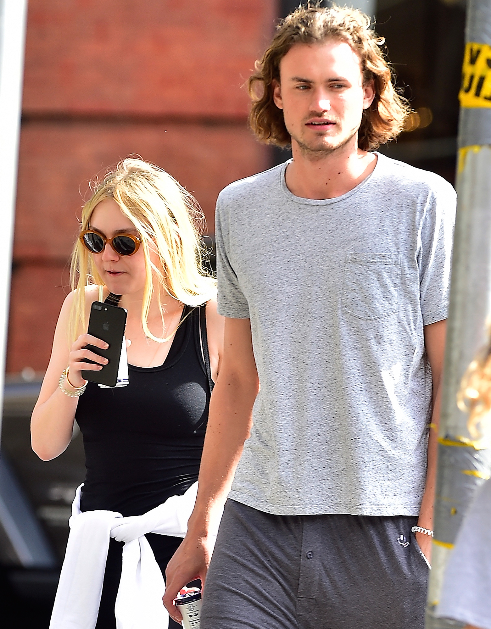 EXCLUSIVE: Dakota Fanning and Her Rumored Boyfriend are Spotted Heading to the Gym in New York City