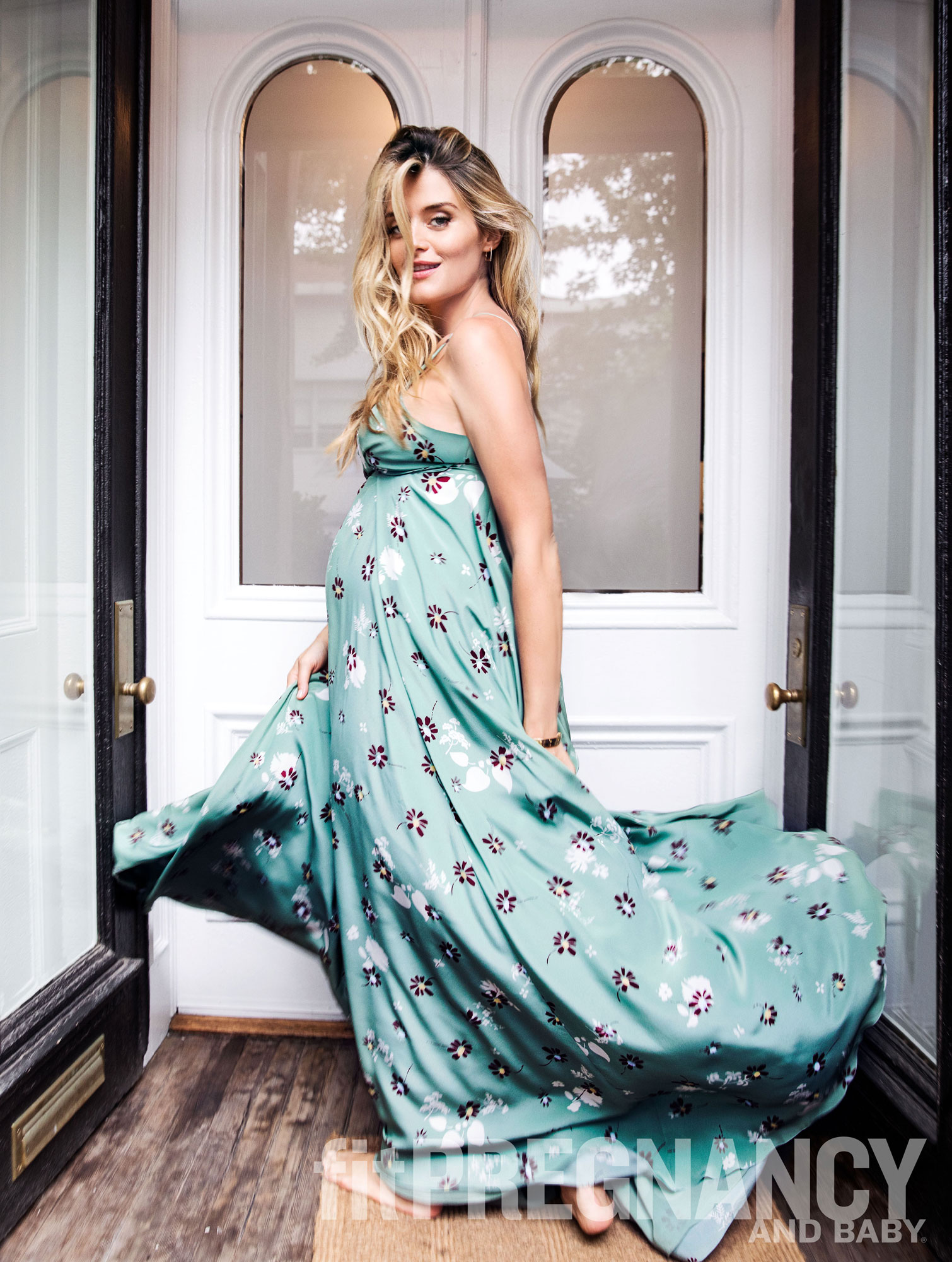 Daphne Oz Fit Pregnancy and Baby interviewCredit: Fit Pregnancy and Baby