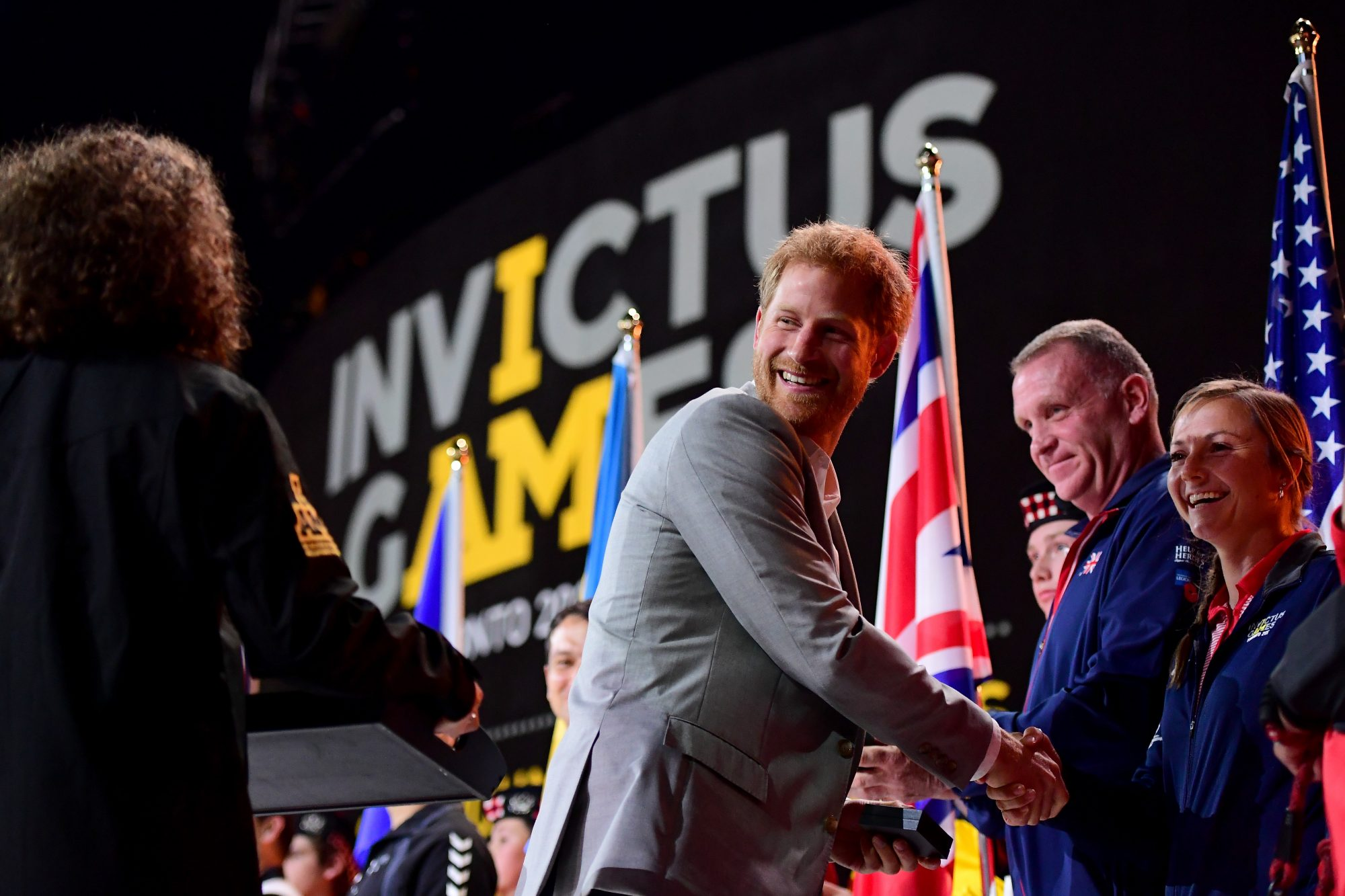 Prince Harry at the Invictus Games Closing Ceremony 2017