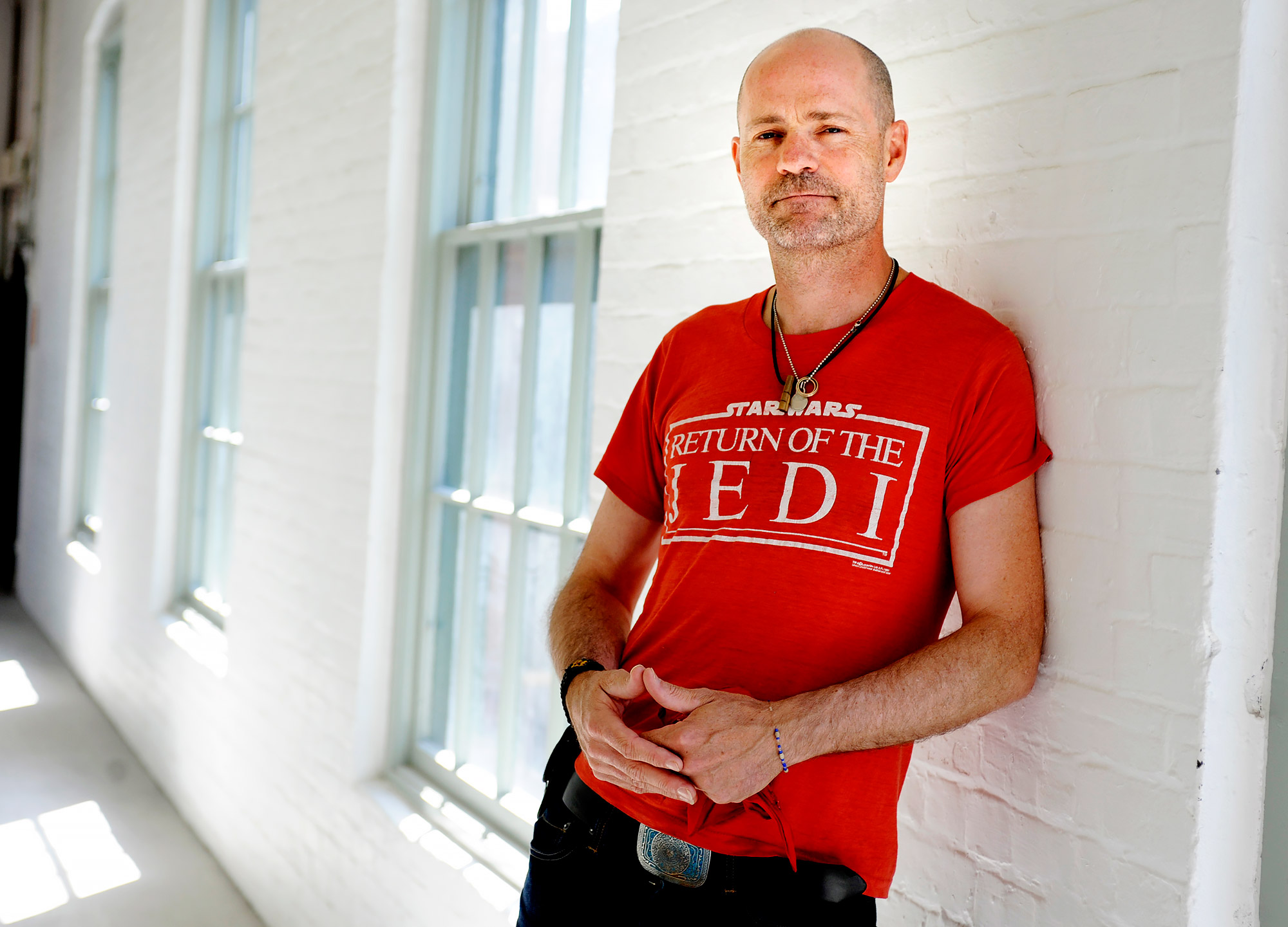 Gord Downie of the Tragically Hip, for Ben Rayner interview. TONY BOCK/TORONTO STAR (JUNE 7, 2010) |