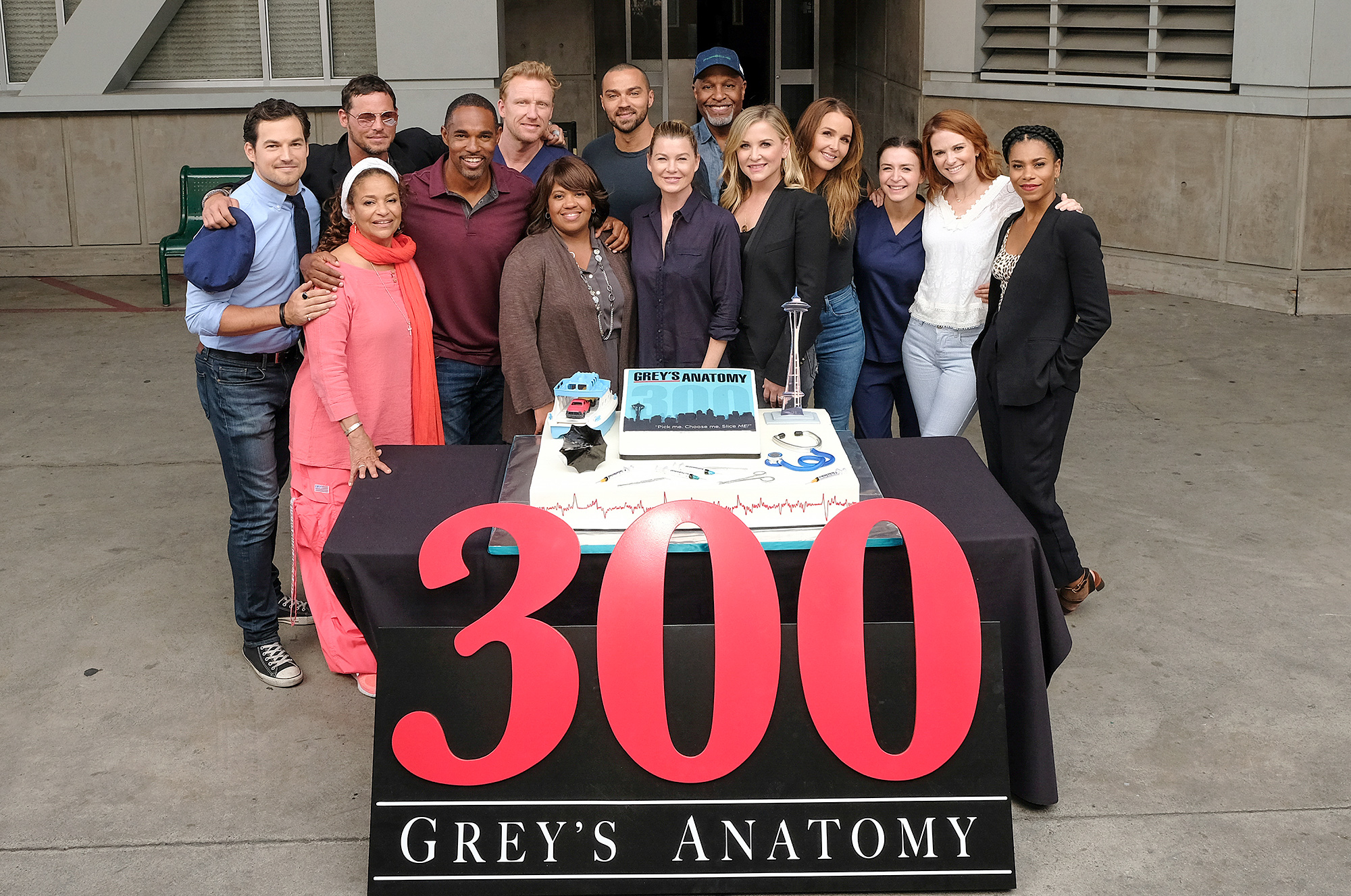 GIACOMO GIANNIOTTI, DEBBIE ALLEN (EXECUTIVE PRODUCER), JUSTIN CHAMBERS, JASON GEORGE, KEVIN MCKIDD, CHANDRA WILSON, JESSE WILLIAMS, ELLEN POMPEO, JAMES PICKENS JR., JESSICA CAPSHAW, CAMILLA LUDDINGTON, CATERINA SCORSONE, SARAH DREW, KELLY MCCREARY