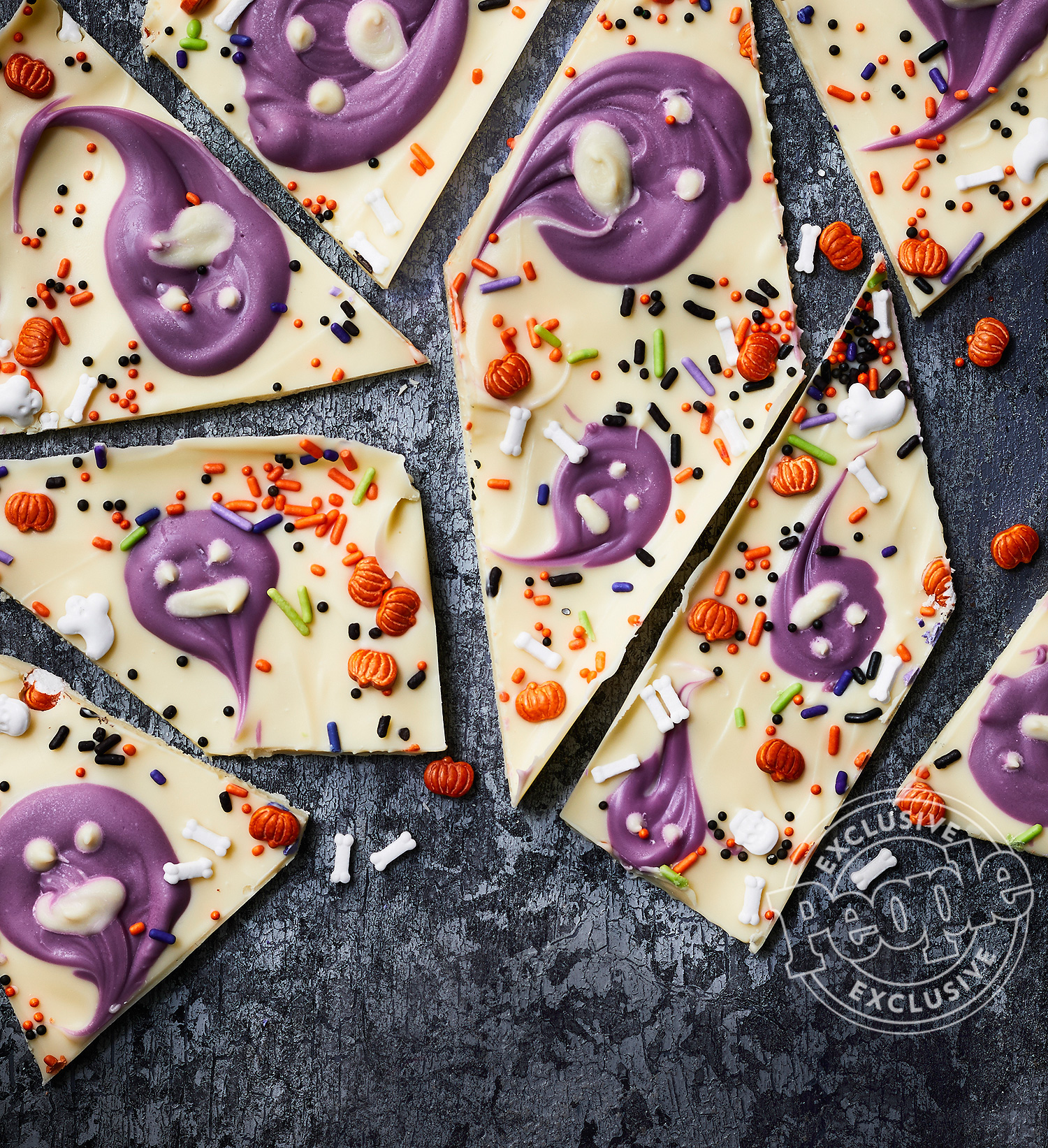 WHITE CHOCOLATE GHOST BARK