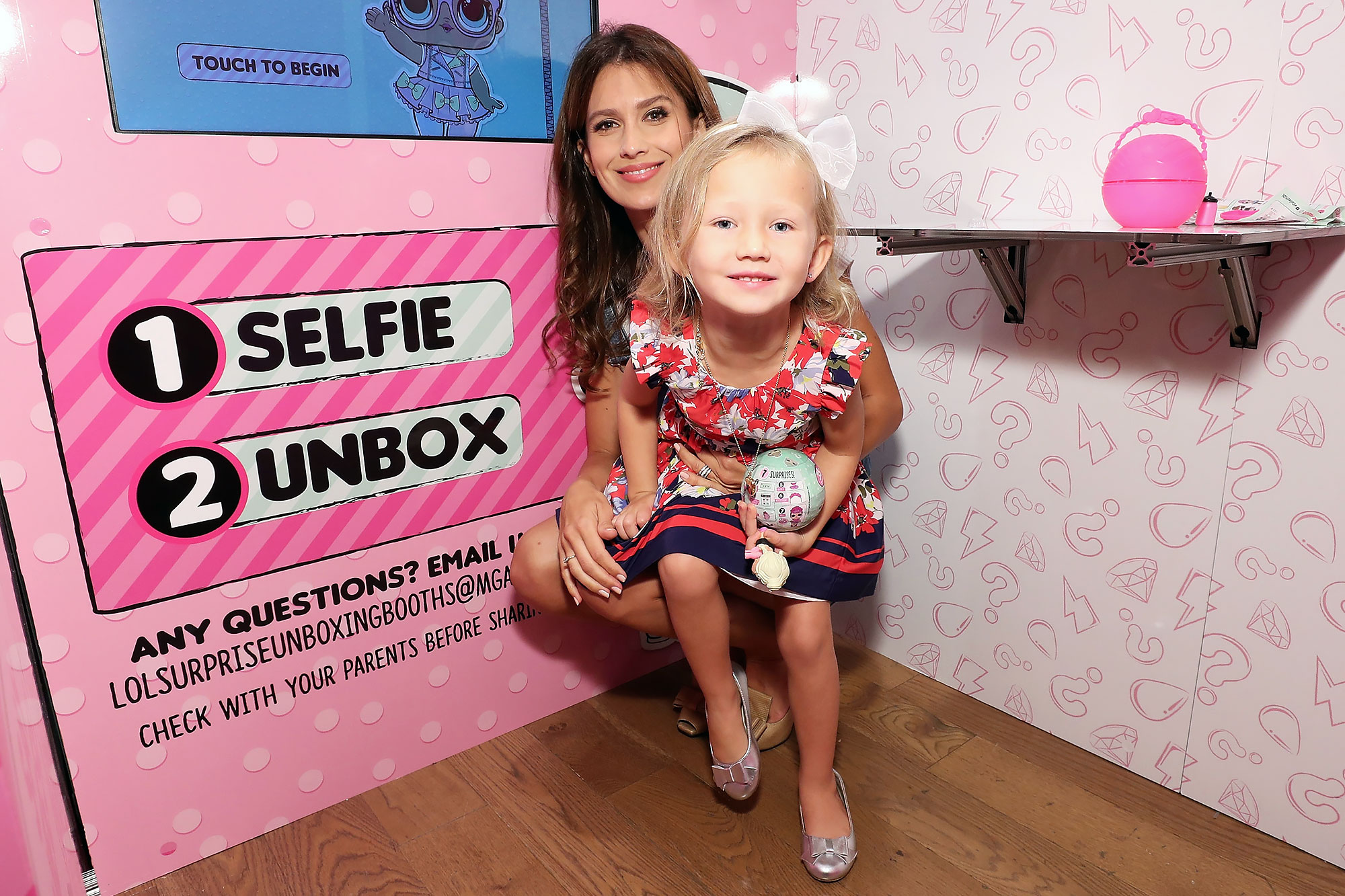 "Hilaria Baldwin Hosts Launch Of L.O.L. Surprise! Unboxing Video Booth And L.O.L. Surprise! Pets At Toys ""R"" Us, NYC"