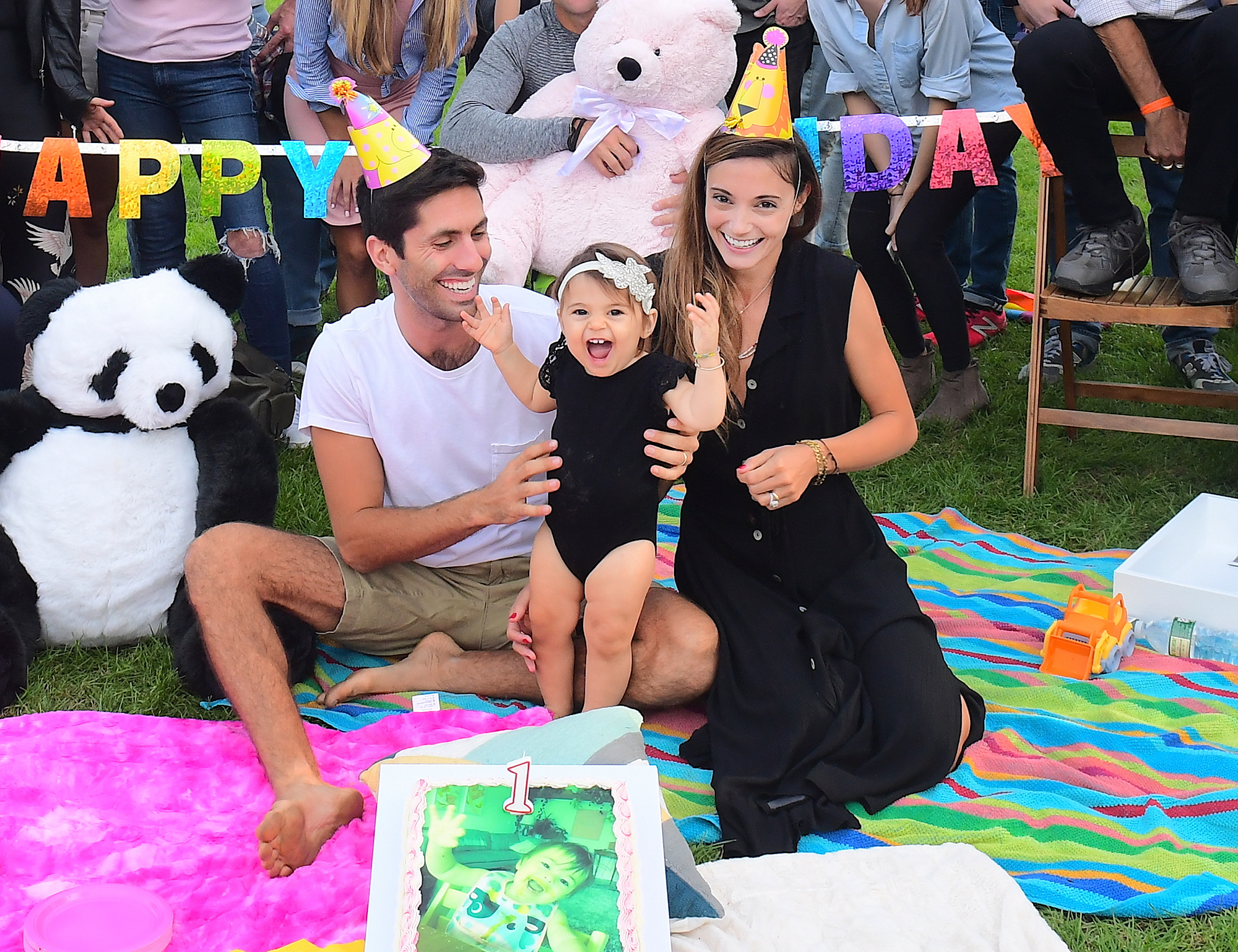 EXCLUSIVE: MTV Catfish Host Nev Schulman Throws Colorful 1st Birthday Party for his Daughter, Cleo, in Central Park