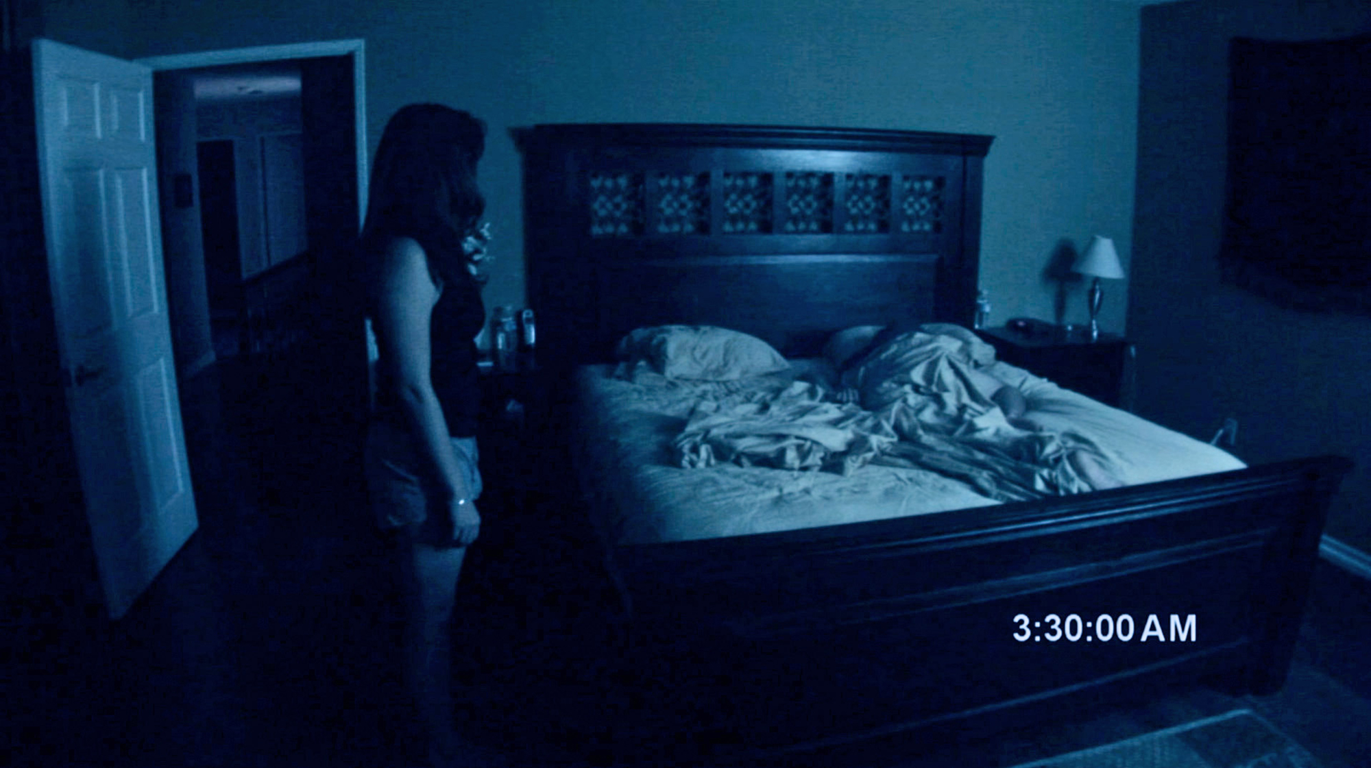 PARANORMAL ACTIVITY, from left: Katie Featherston, Micah Sloat, 2007. ©Paramount Pictures/courtesy E