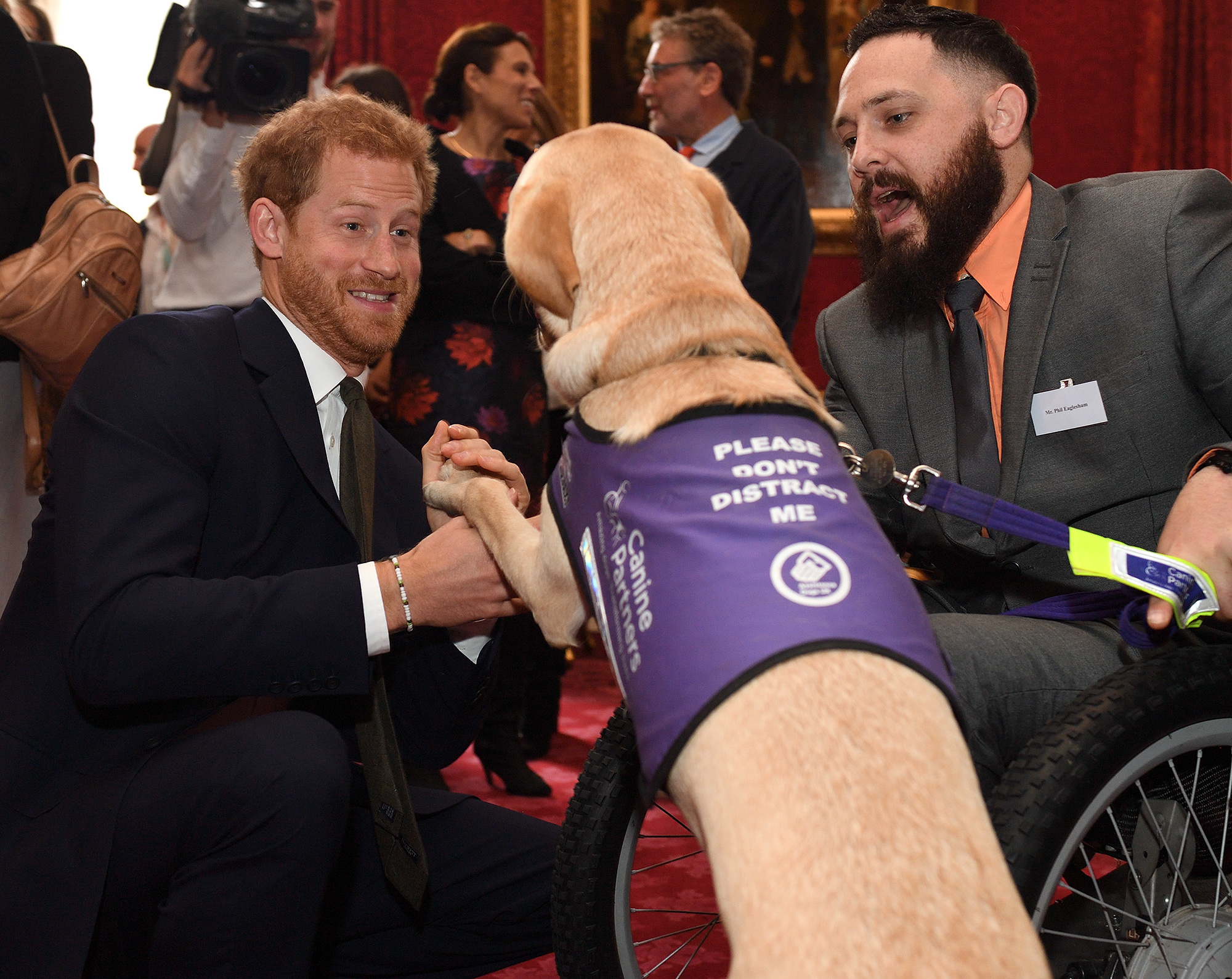 Prince William and Prince Harry host a Heads Together reception