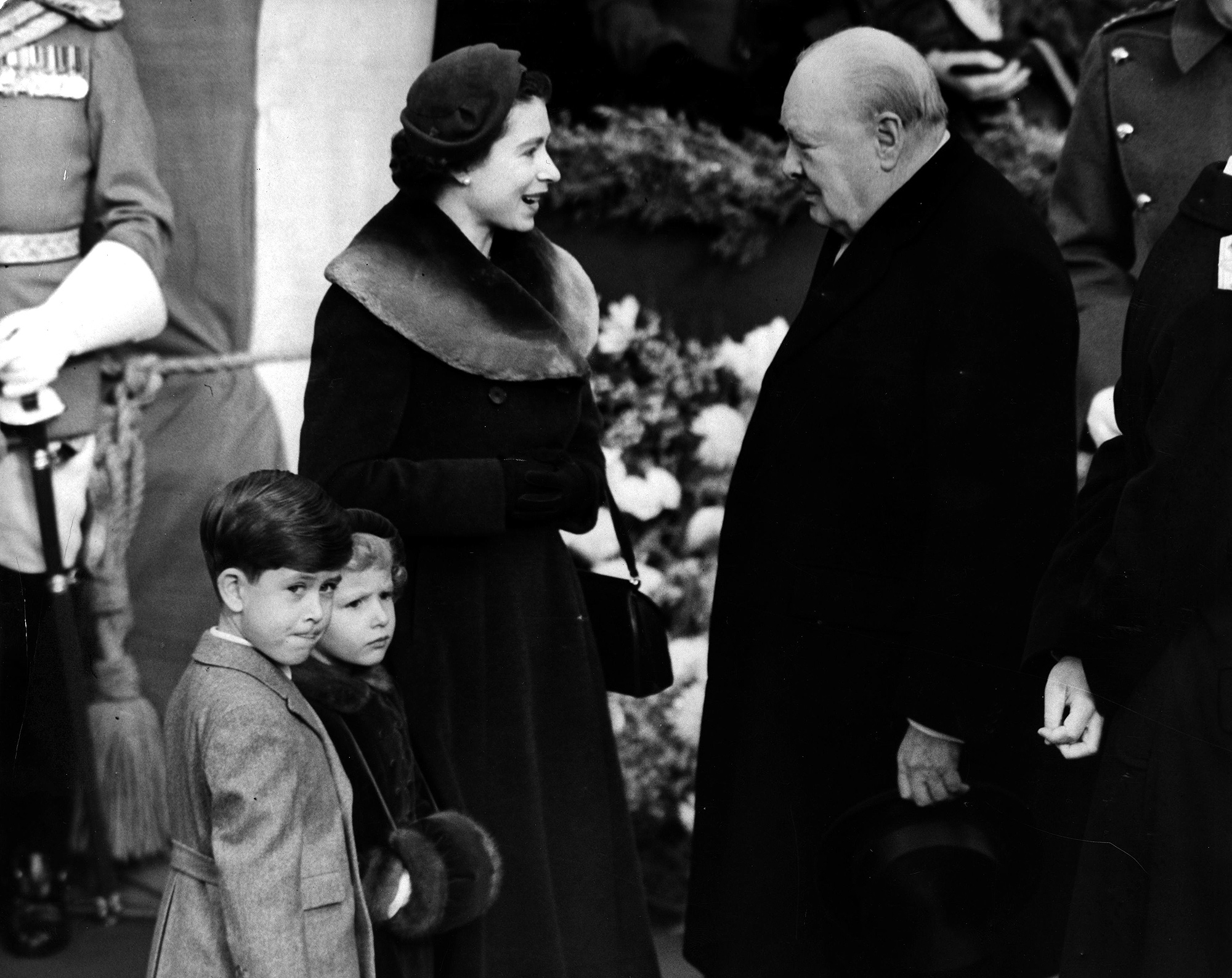 Queen And Churchill