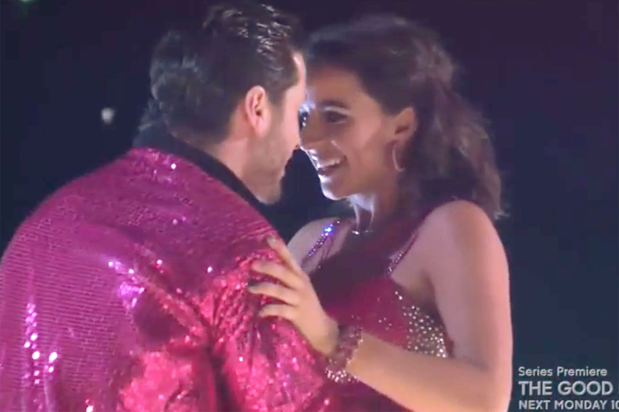 Victoria Arlen wows on DWTS premiere Credit: ABC