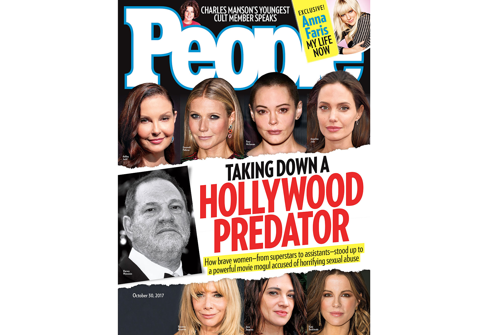 Harvey Weinstein People Cover