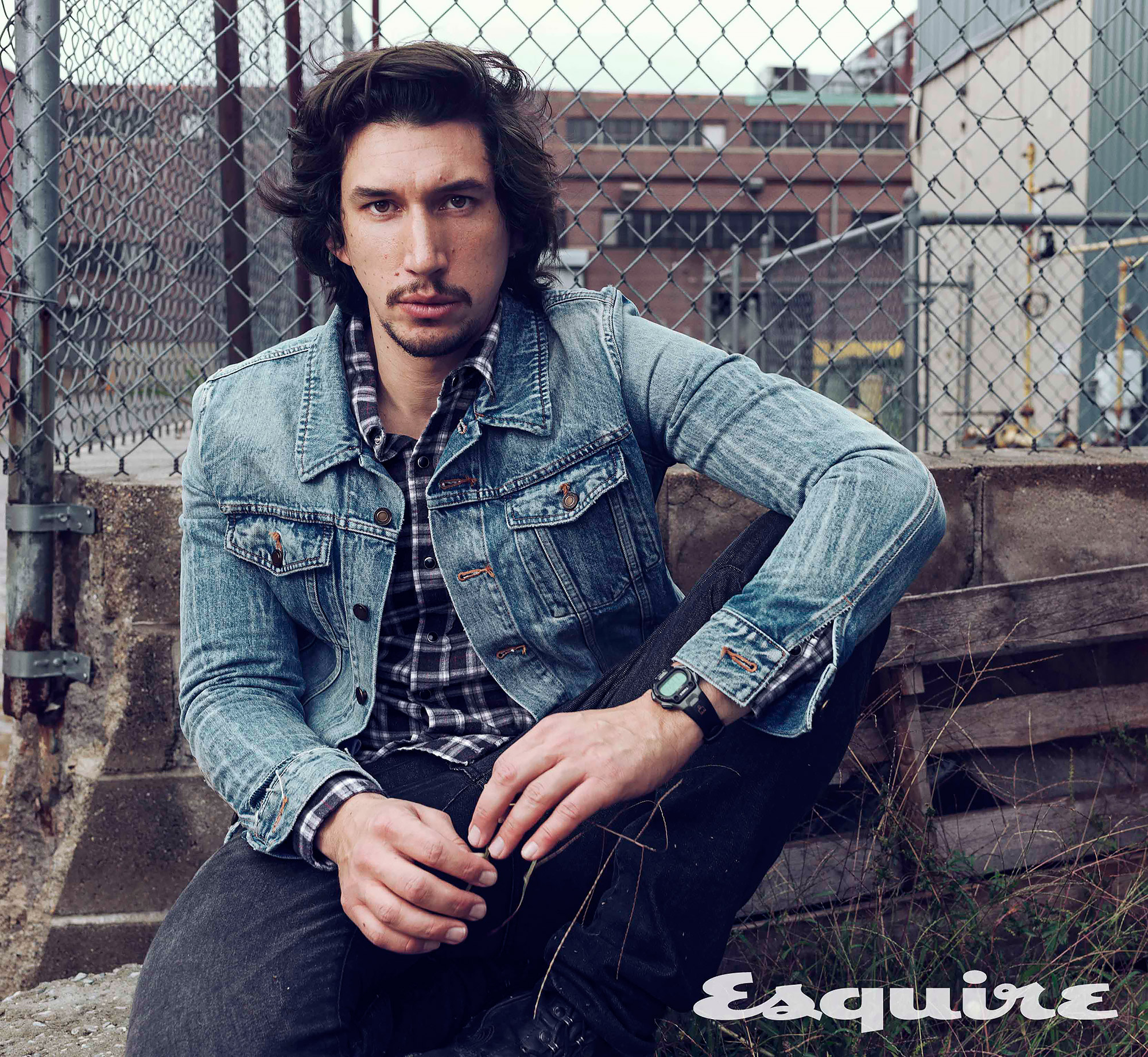 Adam Driver - EsquireCredit: Norman Jean Roy