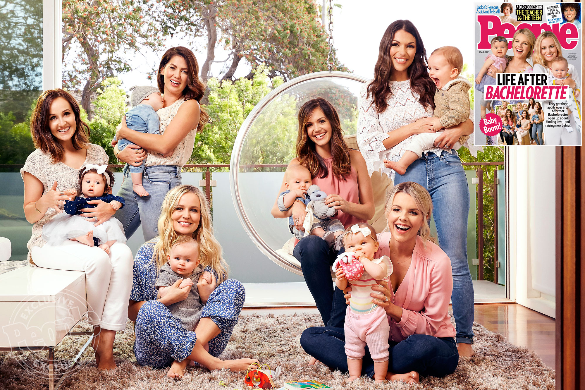 The Six Bachelorette Baby Boom Moms