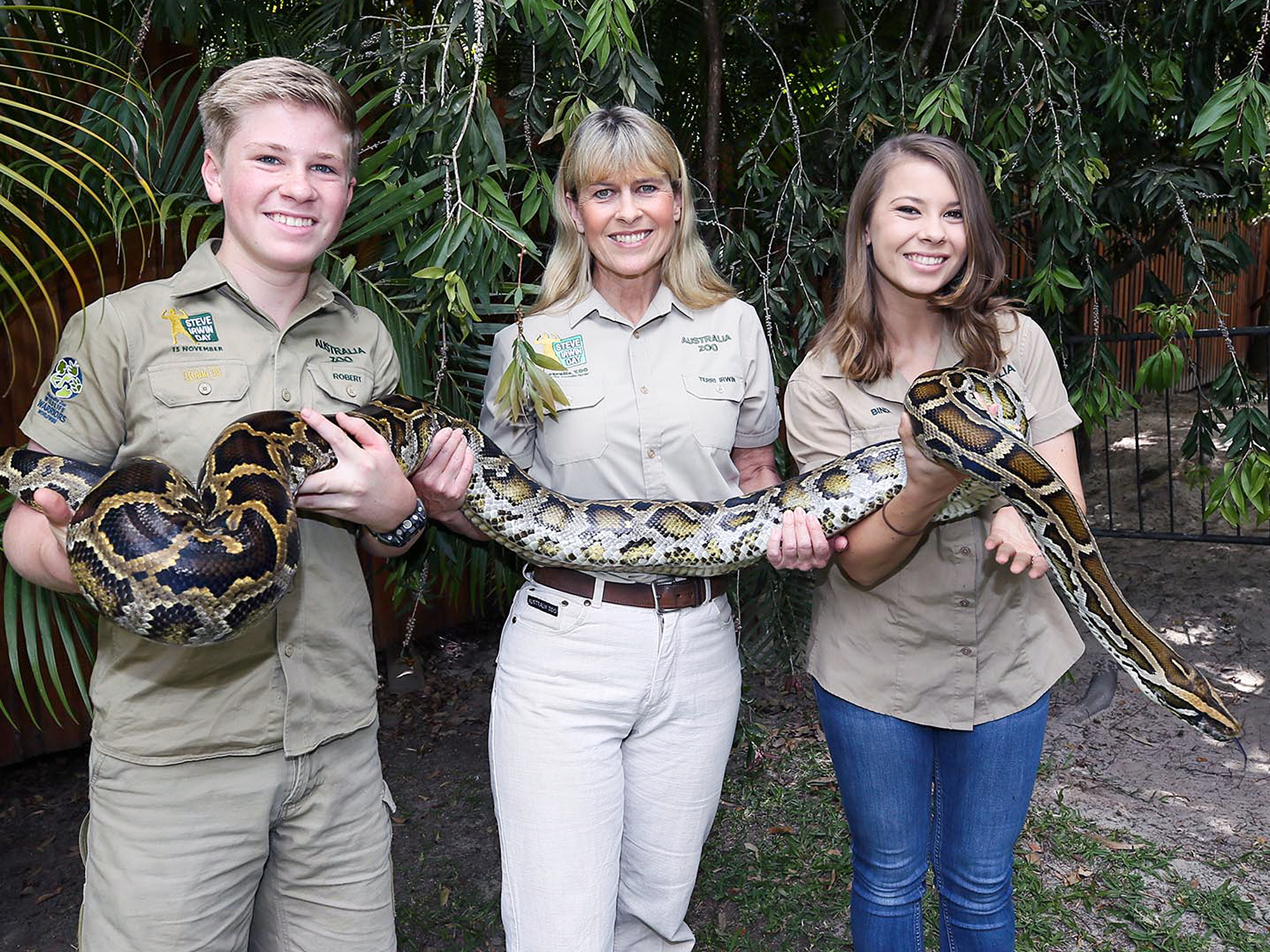 The Irwin Family All About Their New Series At The Australia Zoo People Com