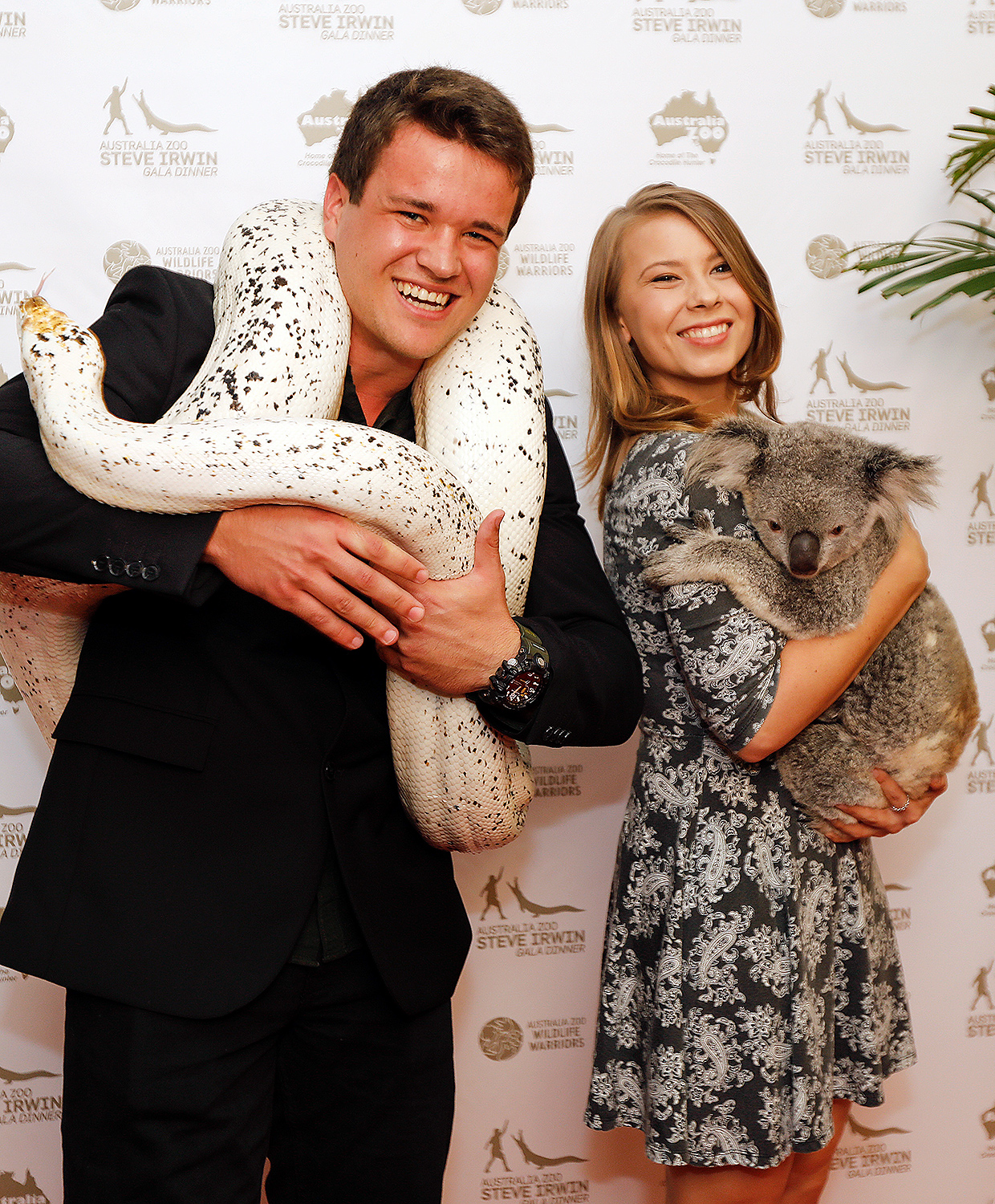 EXCLUSIVE: Bindi Irwin & Chandler Powell host the 11th Annual Steve Irwin Gala Dinner