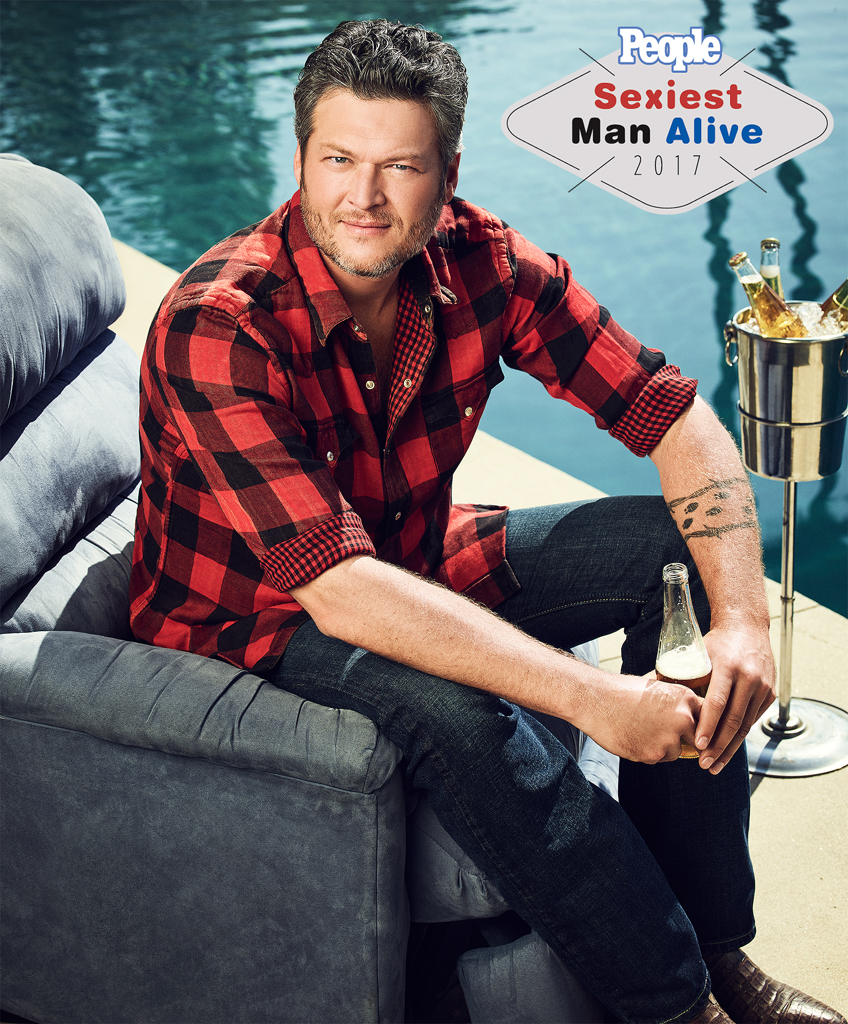 Blake Shelton Sexiest Man AliveCREDIT: Joe Pugliese - @JoePug
