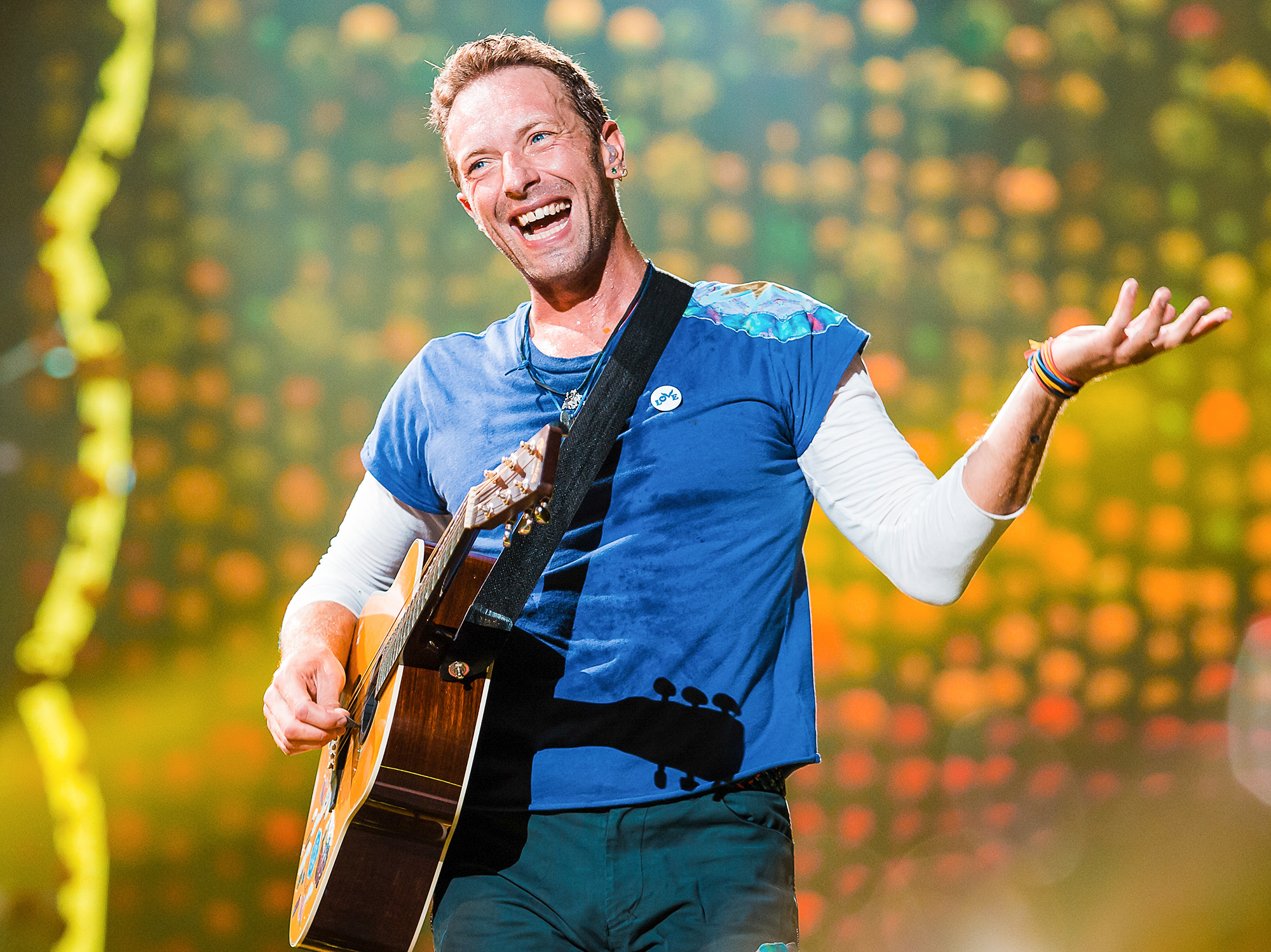 Coldplay Performs At Allianz Parque