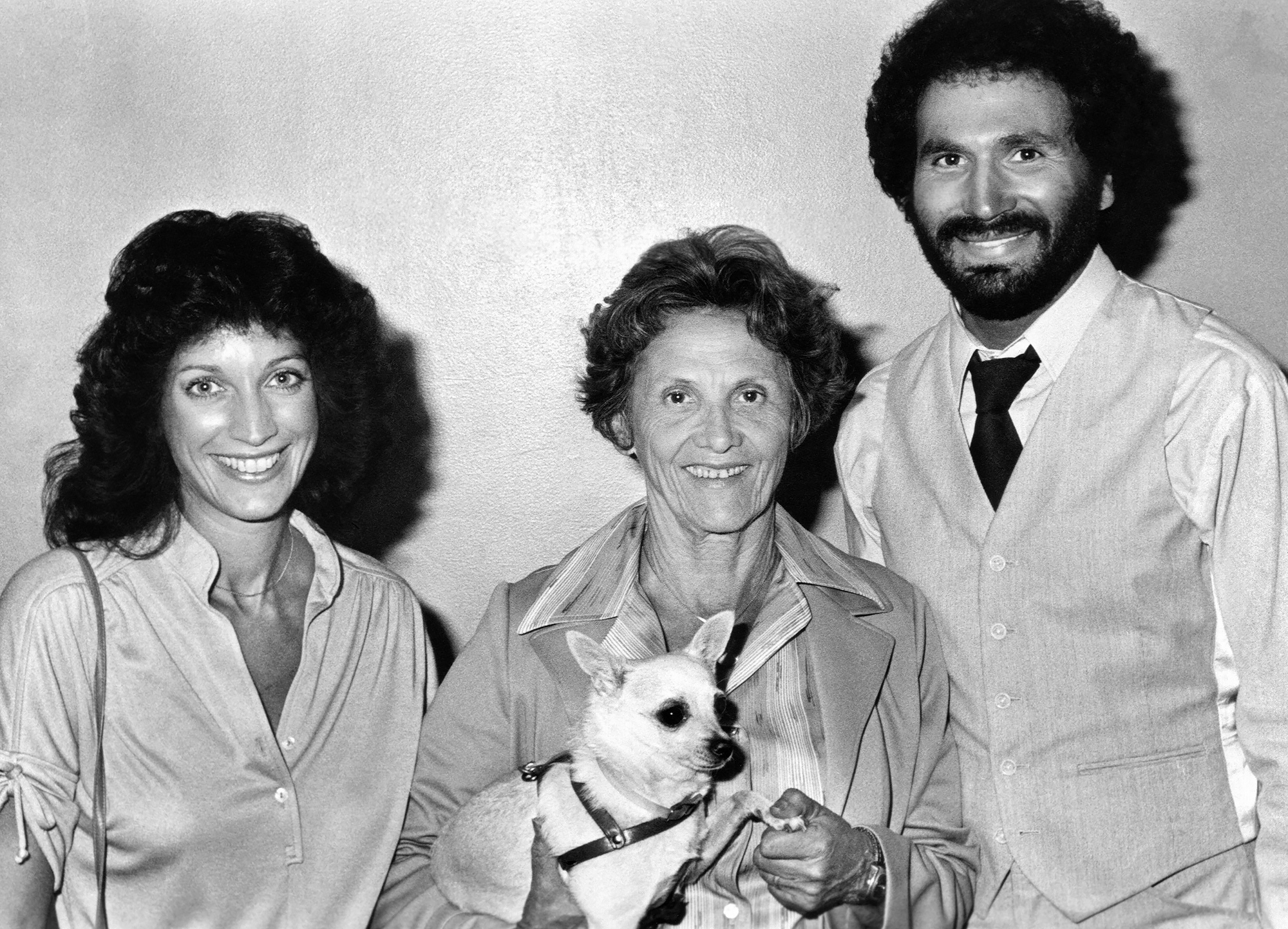 FAST BREAK, from left, Randee Heller, Connie Sawyer, Gabe Kaplan, on-set, 1979, ©Columbia Pictures/C