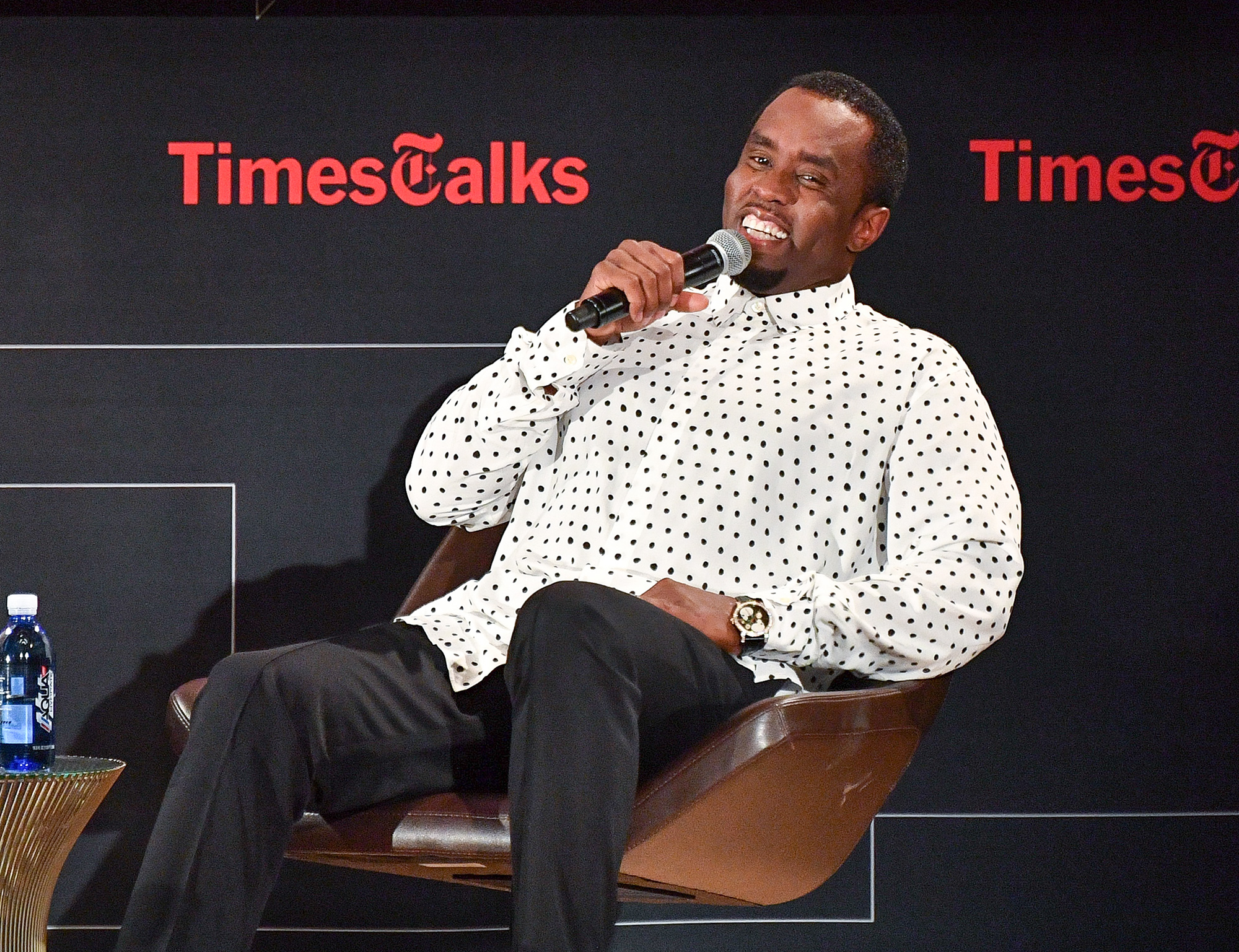 """TimesTalks Presents: An Evening With Sean """"Diddy"""" Combs"""