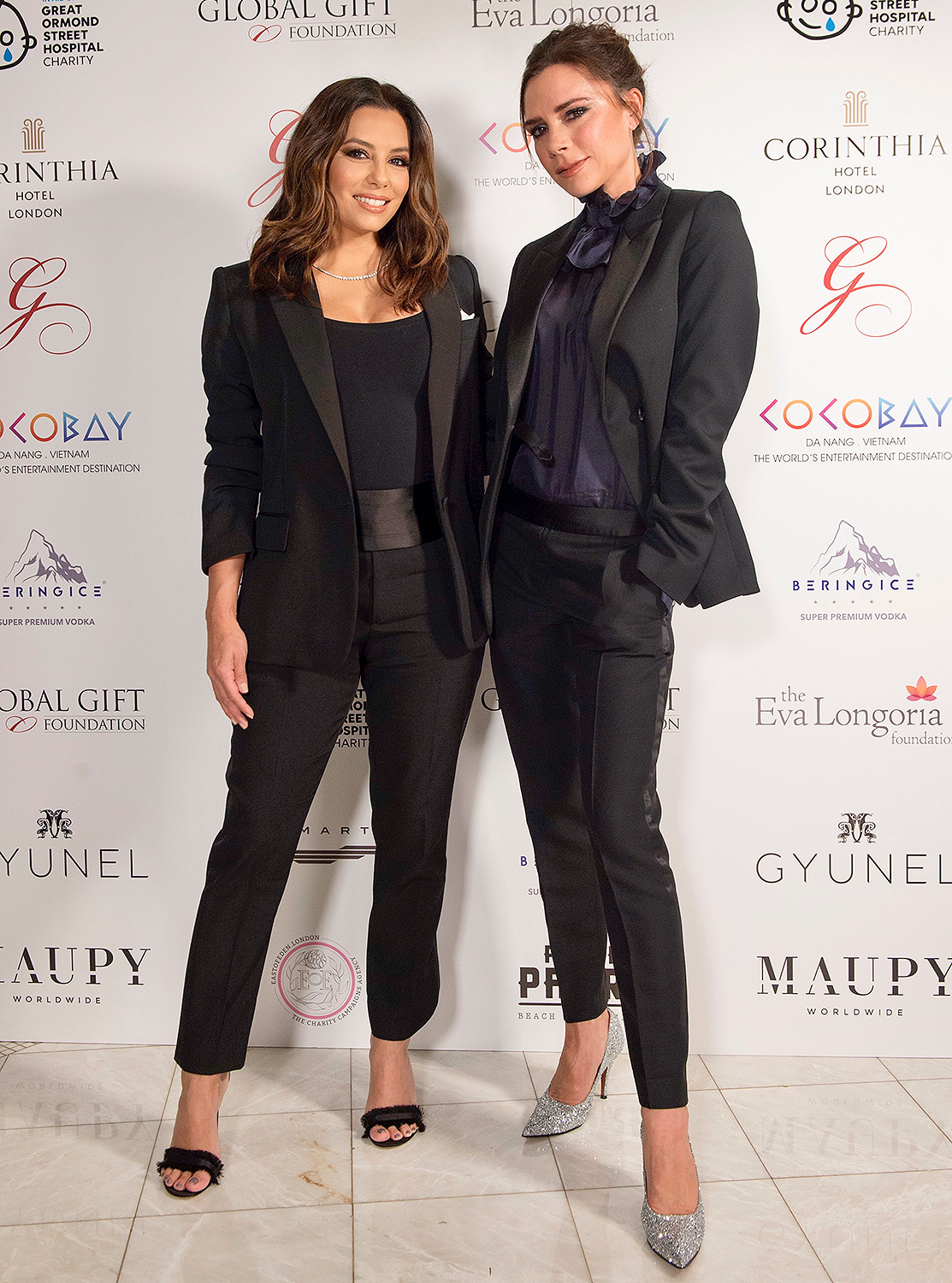 EXCLUSIVE: The Global Gift Gala London With Eva Longoria and Victoria Beckham