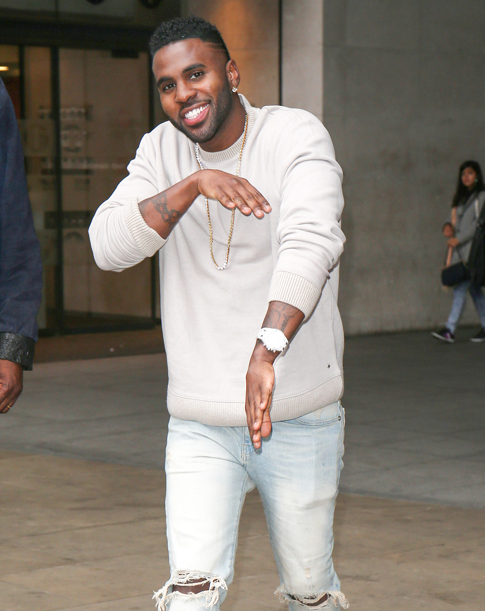 Jason Derulo out and about, London, UK - 26 Oct 2017