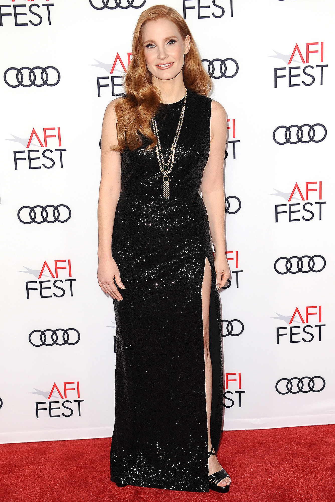 """AFI FEST 2017 Presented By Audi - Closing Night Gala - Screening Of """"Molly's Game"""" - Arrivals"""