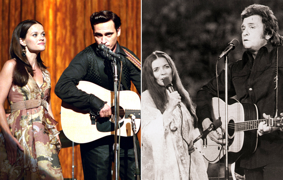 Reese Witherspoon, Joaquin Phoenix- Johnny Cash and June Carter