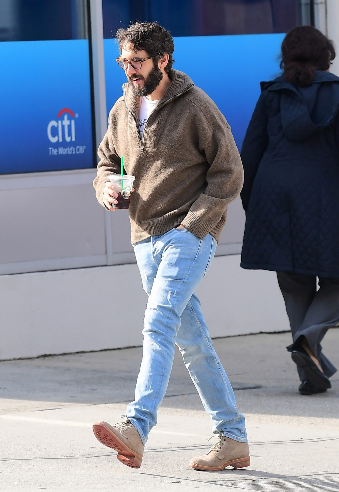 EXCLUSIVE: Josh Groban Spotted out in NYC Just Days after Witnessing NYC Terror Attack