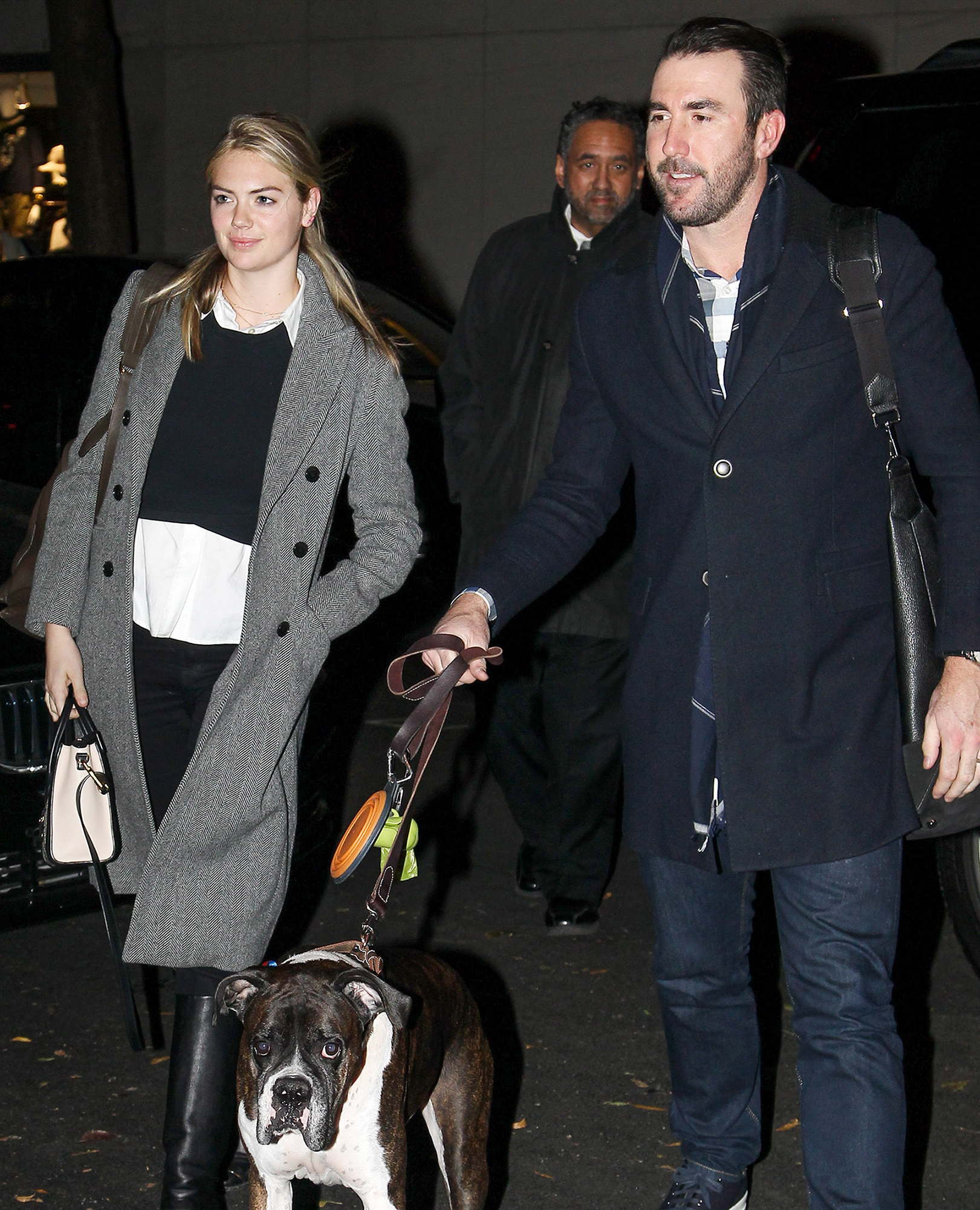 EXCLUSIVE: Kate Upton and Husband Justin Verlander Touch Down in New York City Early This Morning