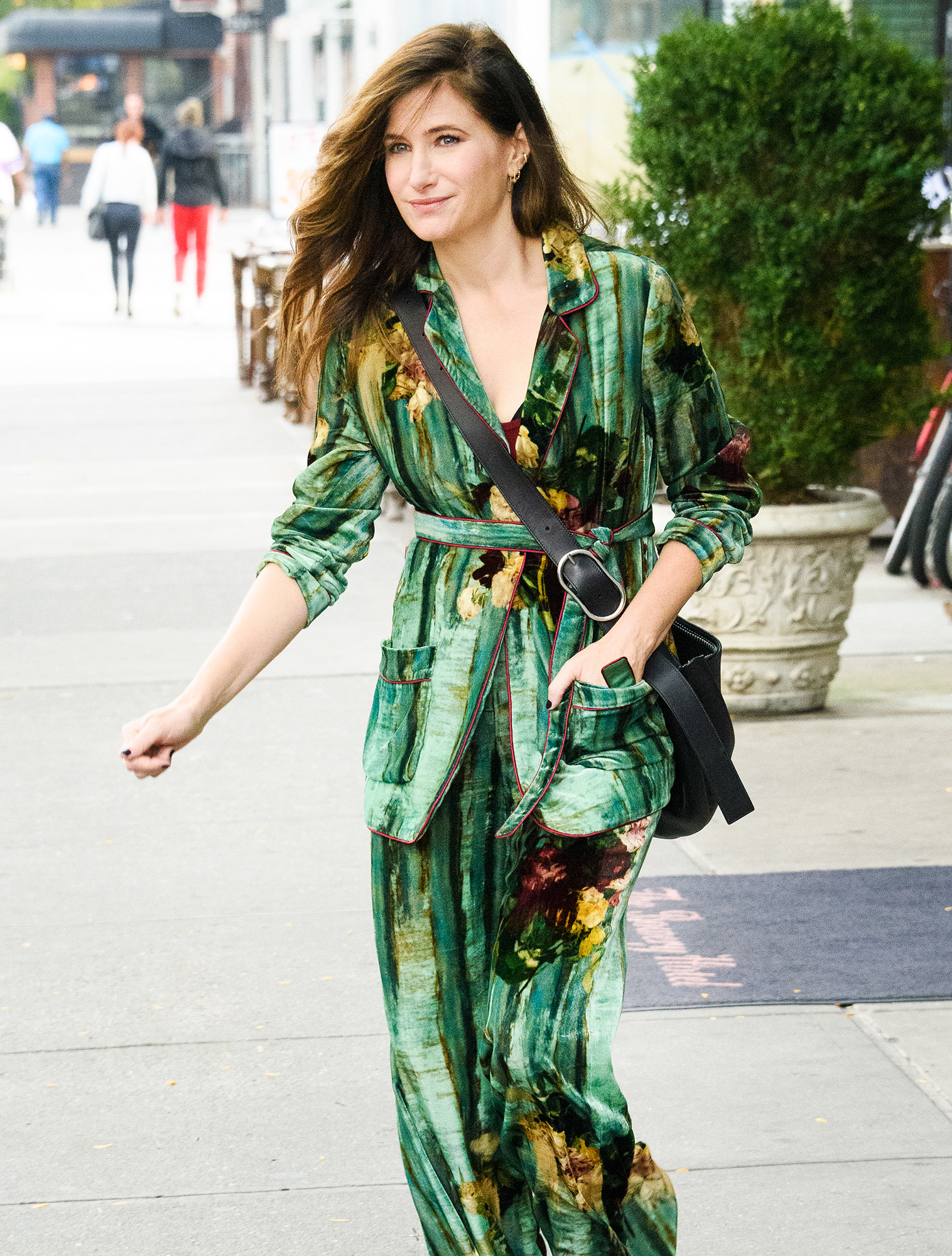 Kathryn Hahn spotted out and about in New York