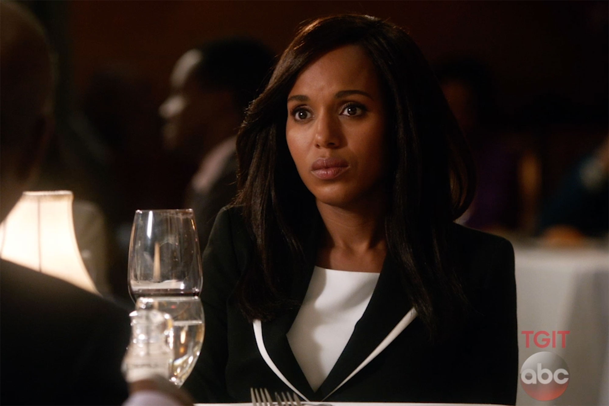 Kerry Washington Olivia Pope ScandalCredit: ABC