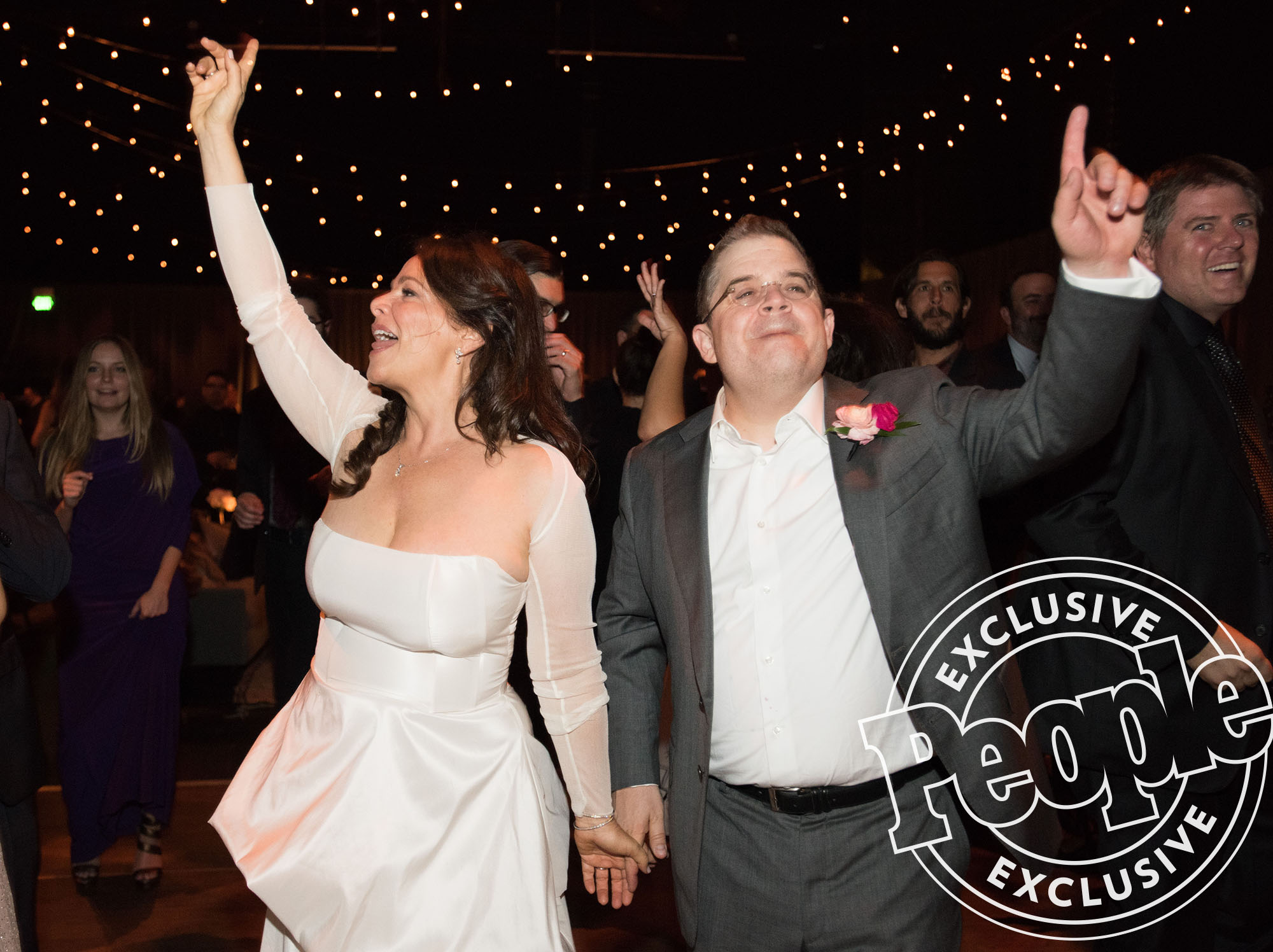 Meredith Salenger and Patton Oswalt's Wedding