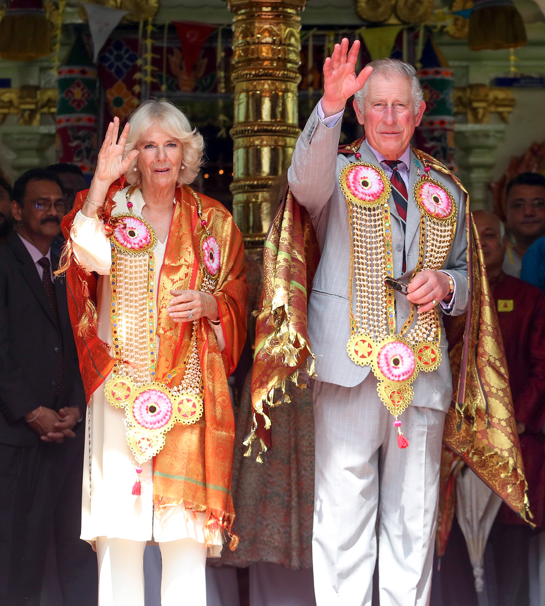 The Prince Of Wales & Duchess Of Cornwall Visit Singapore, Malaysia, Brunei And India - Day 8