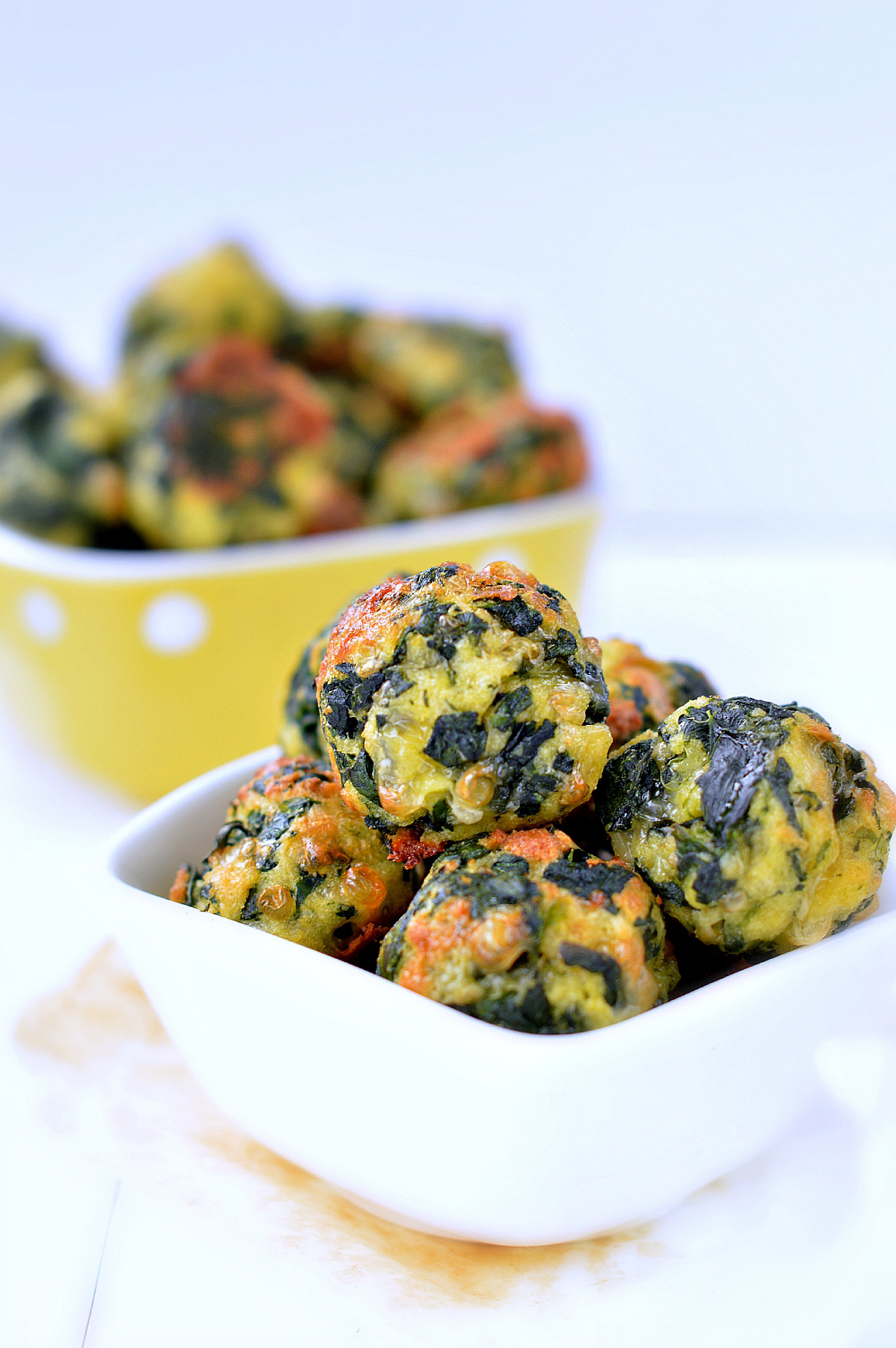 Spinach Cheesy Balls - Food