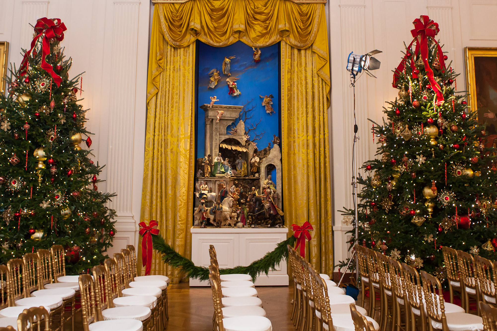 The White House Is Decorated For The 2016 Holiday Season