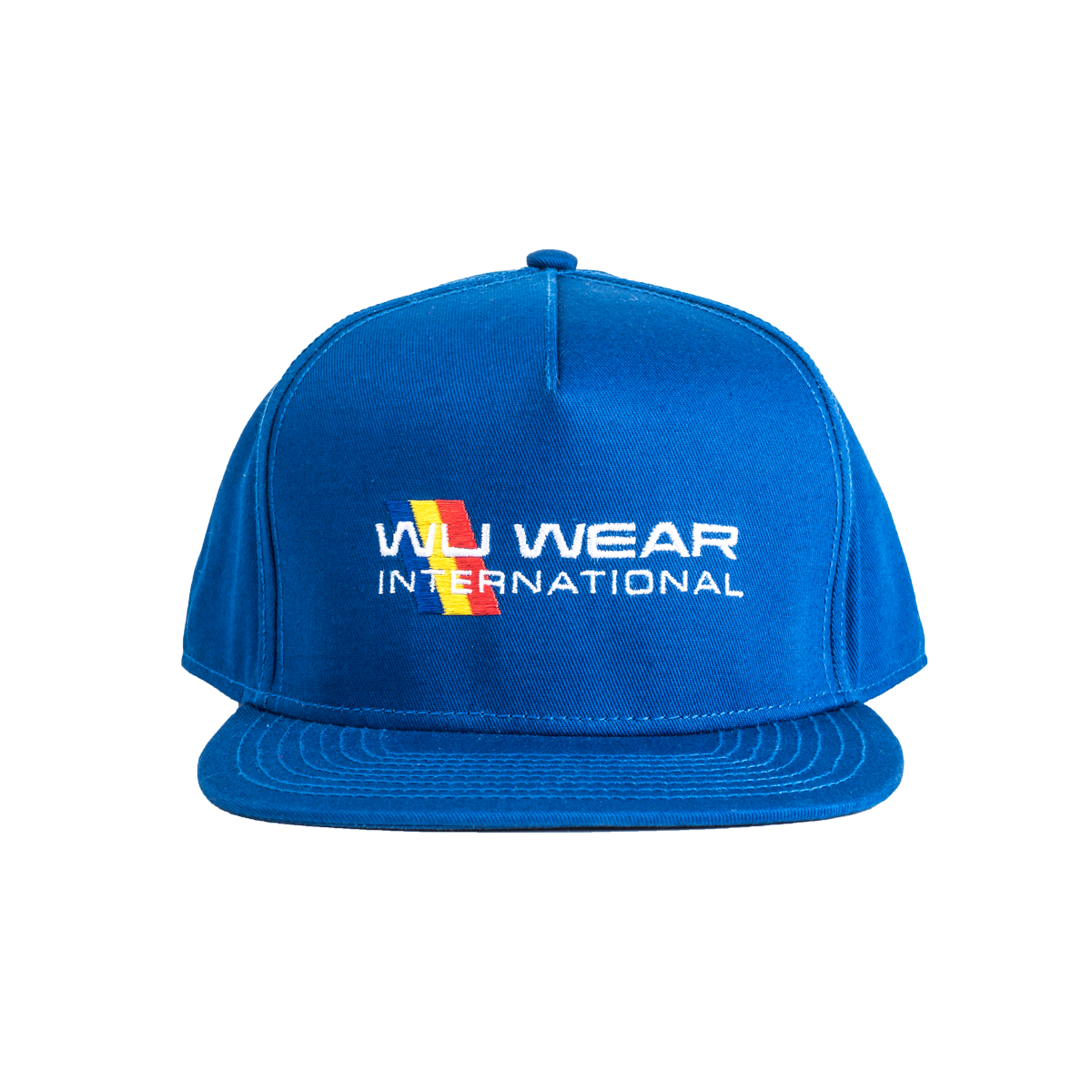 Wu Wear International Snapback Hat - Royal - $29.95