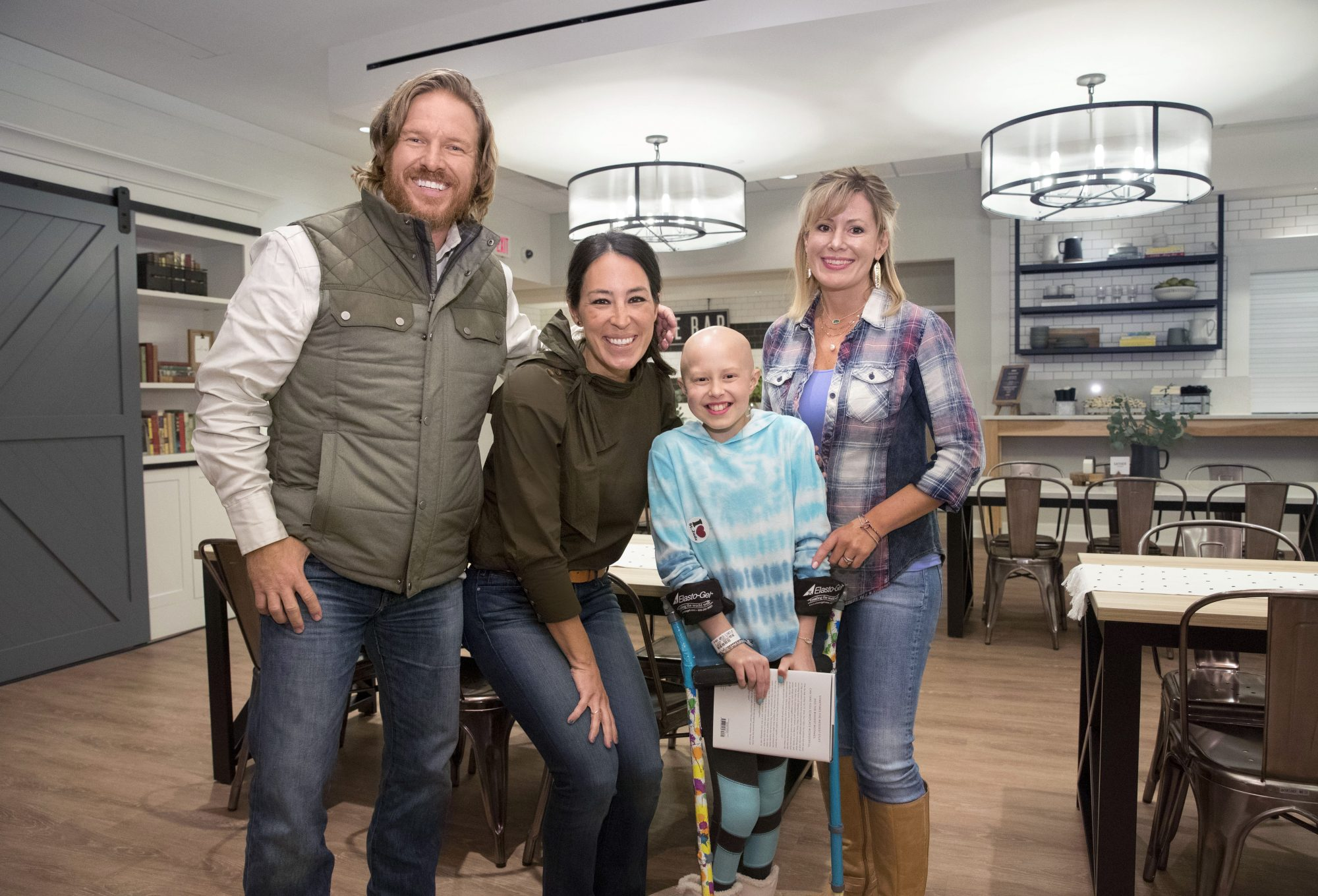Chip and Joanna Gaines Wednesday, November 8, 2017.