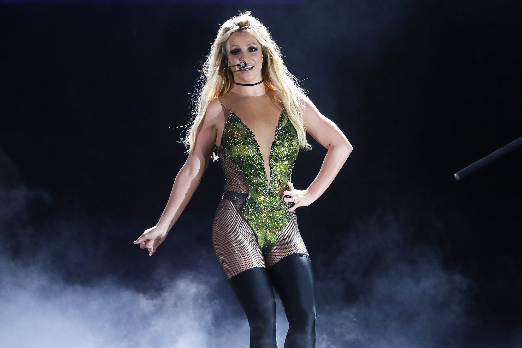 Britney Spears Holds Concert In Taipei