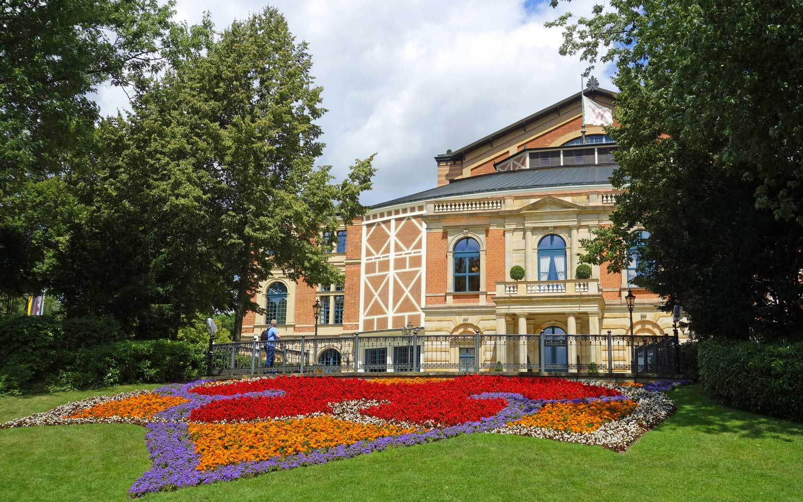 Opera House in Bayreuth, Germany