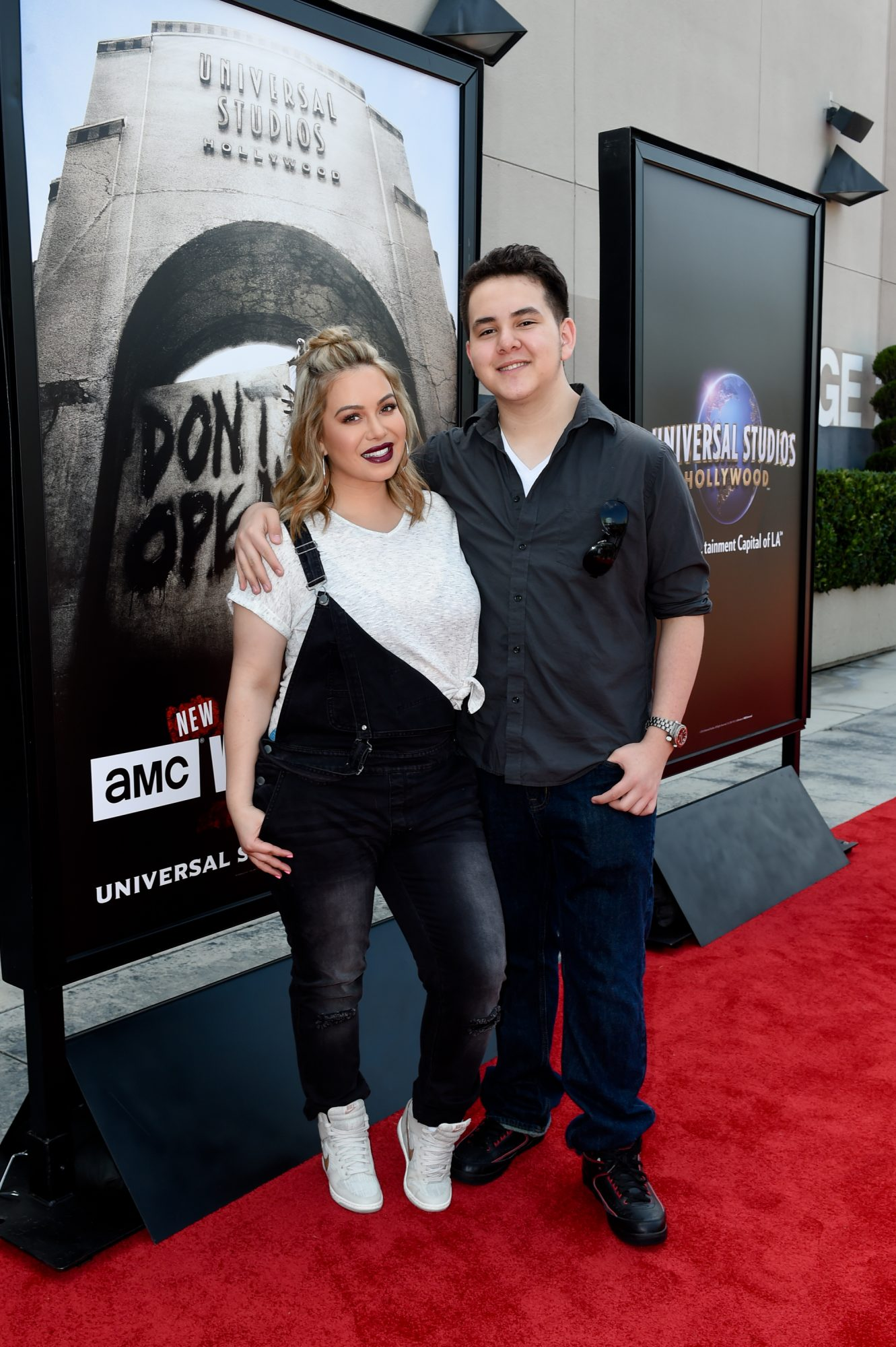 """Press Event For """"The Walking Dead"""" Attraction """"Don't Open, Dead Inside"""" At Universal Studios Hollywood - Red Carpet"""