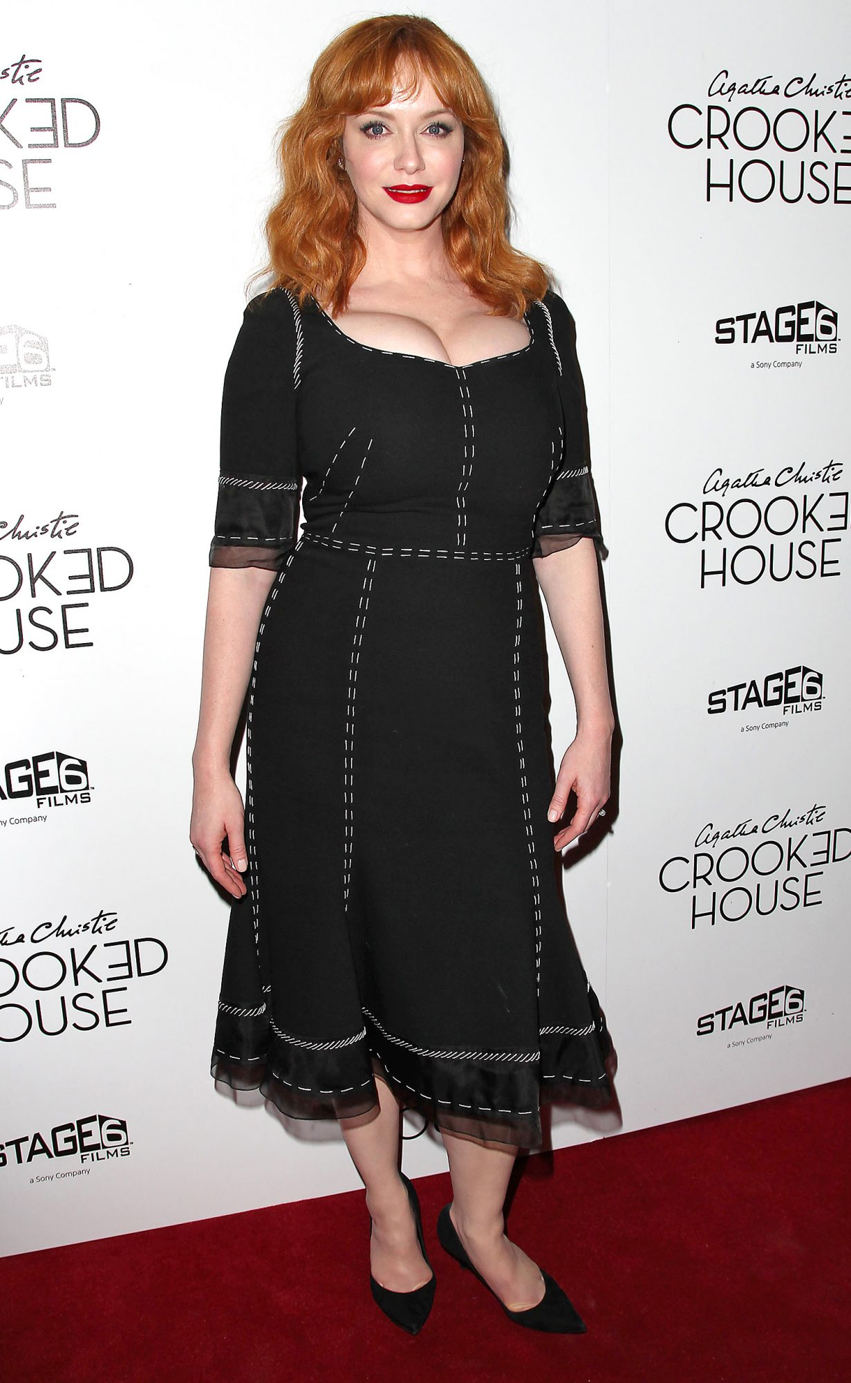 New York Premiere of 'CROOKED HOUSE', USA - 13 Dec 2017