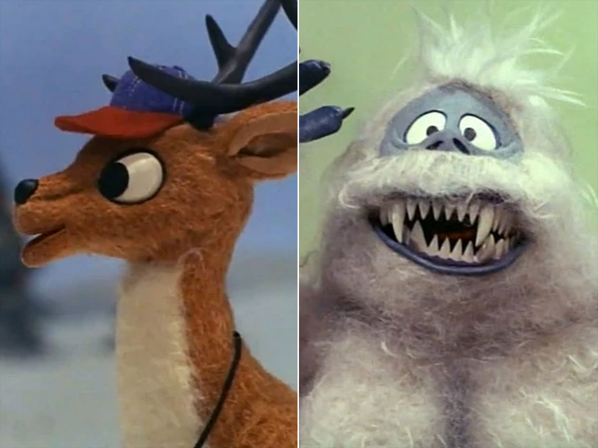 Christmas movie villians Rudolph the red nosed reindeerCredit: CBS (2)