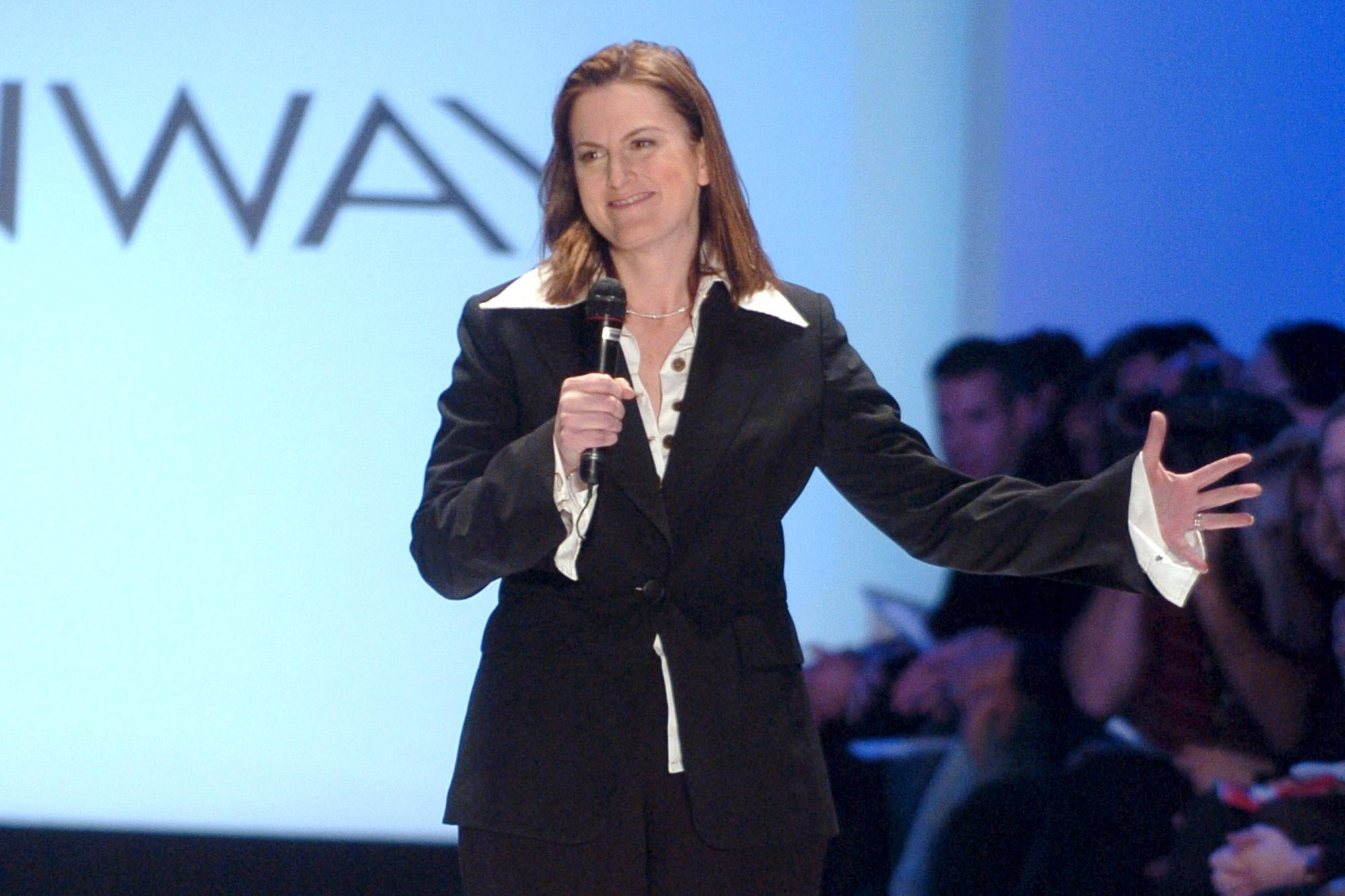 "Olympus Fashion Week Fall 2005 - Wendy Pepper for ""Project Runway"" - Runway"