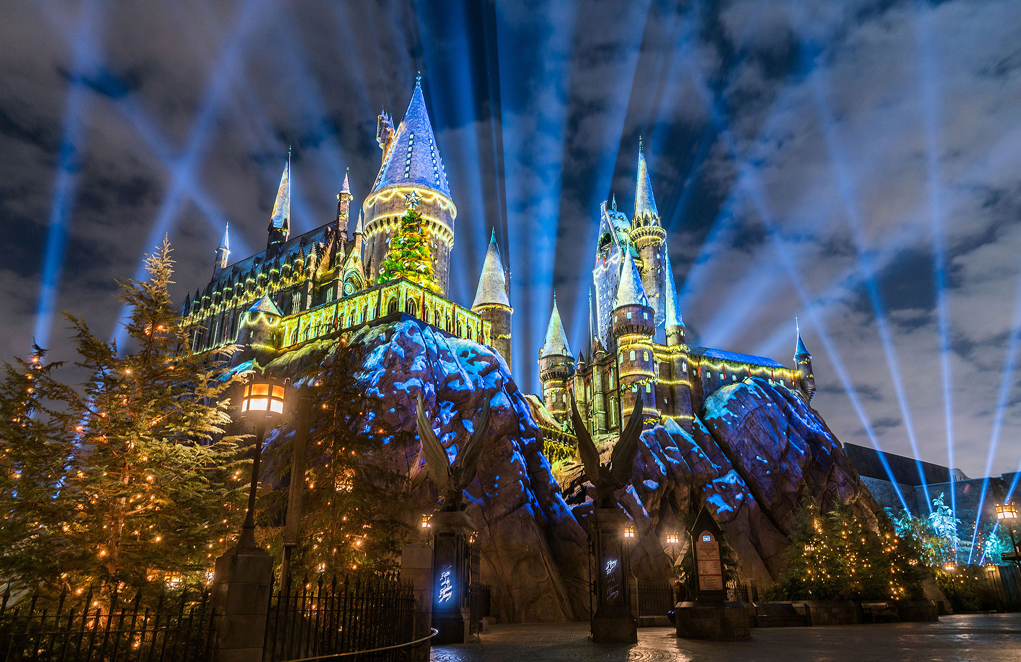 Harry Potter ChristmasCredit: Universal Orlando