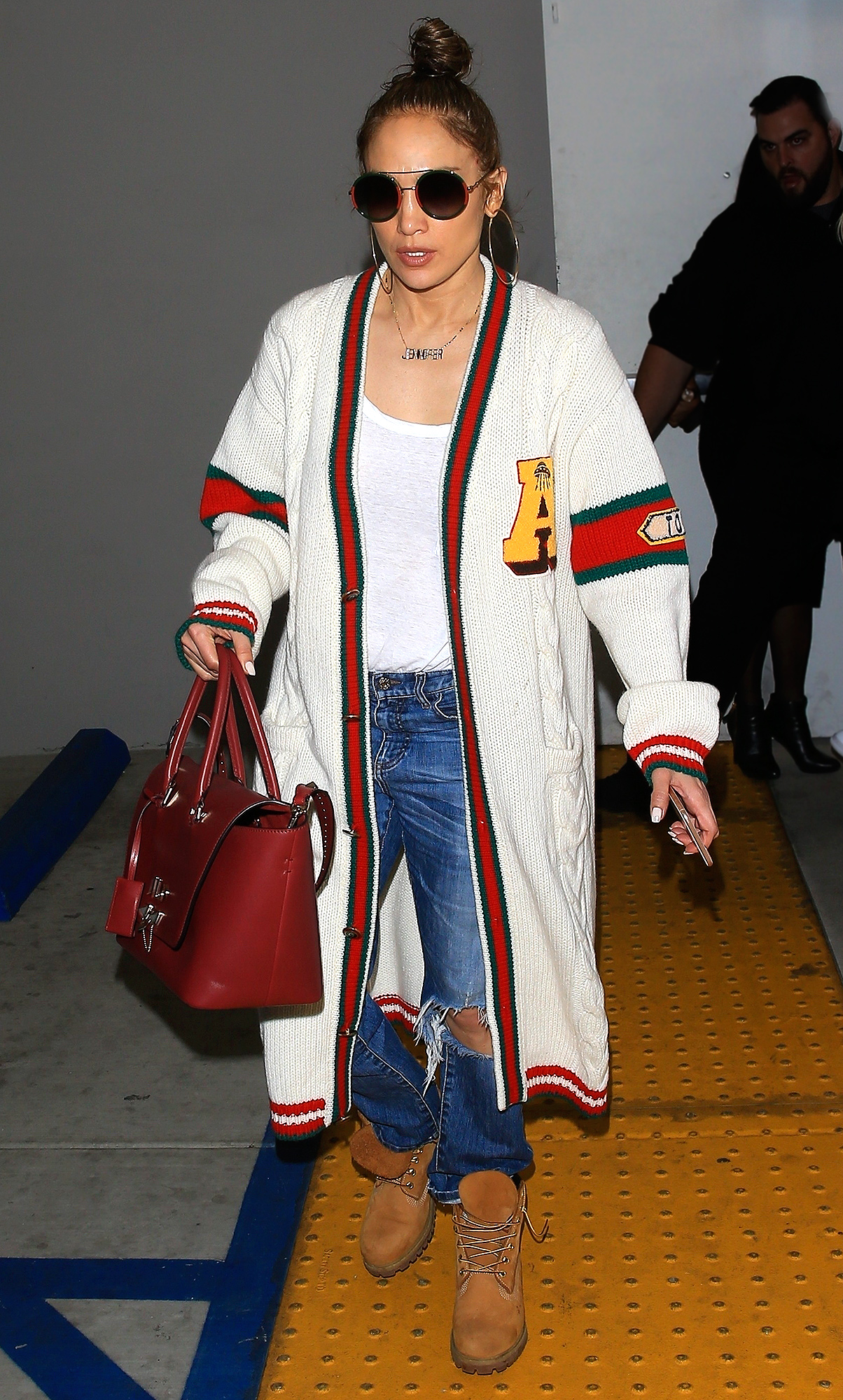 Jennifer Lopez and A Rod fit in some post holiday retail therapy!
