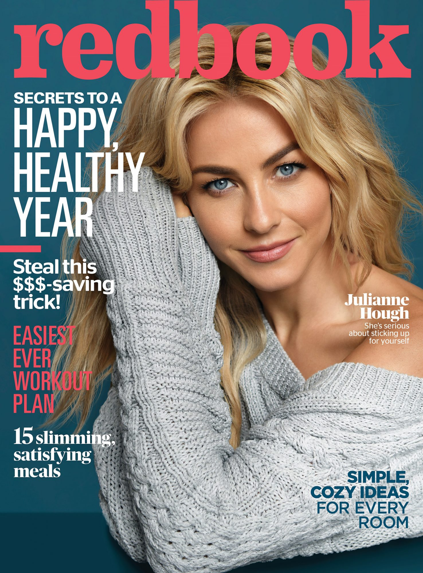 Julianne Hough, RedbookCredit: Hudson Taylor