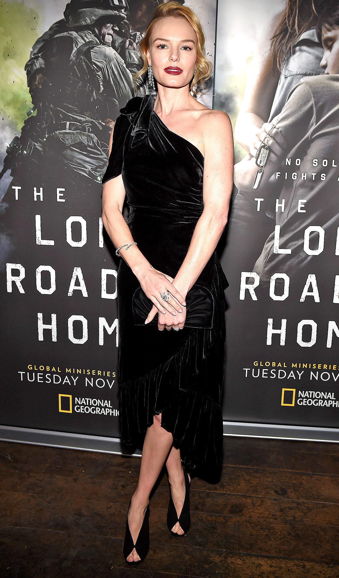 Stars seen at the Final Episode Screening of National Geographic's 'The Long Road Home' in Hollywood