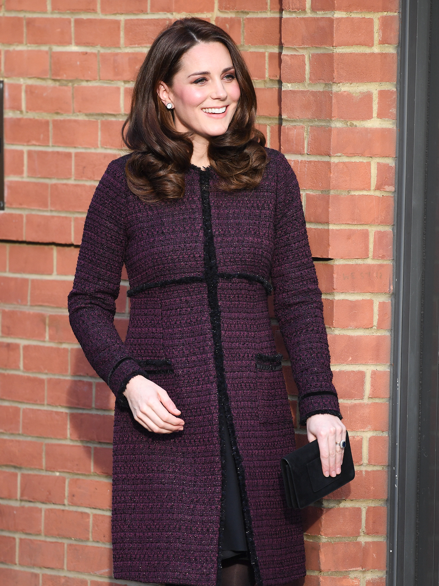 The Duchess of Cambridge attends a Community Christmas Party
