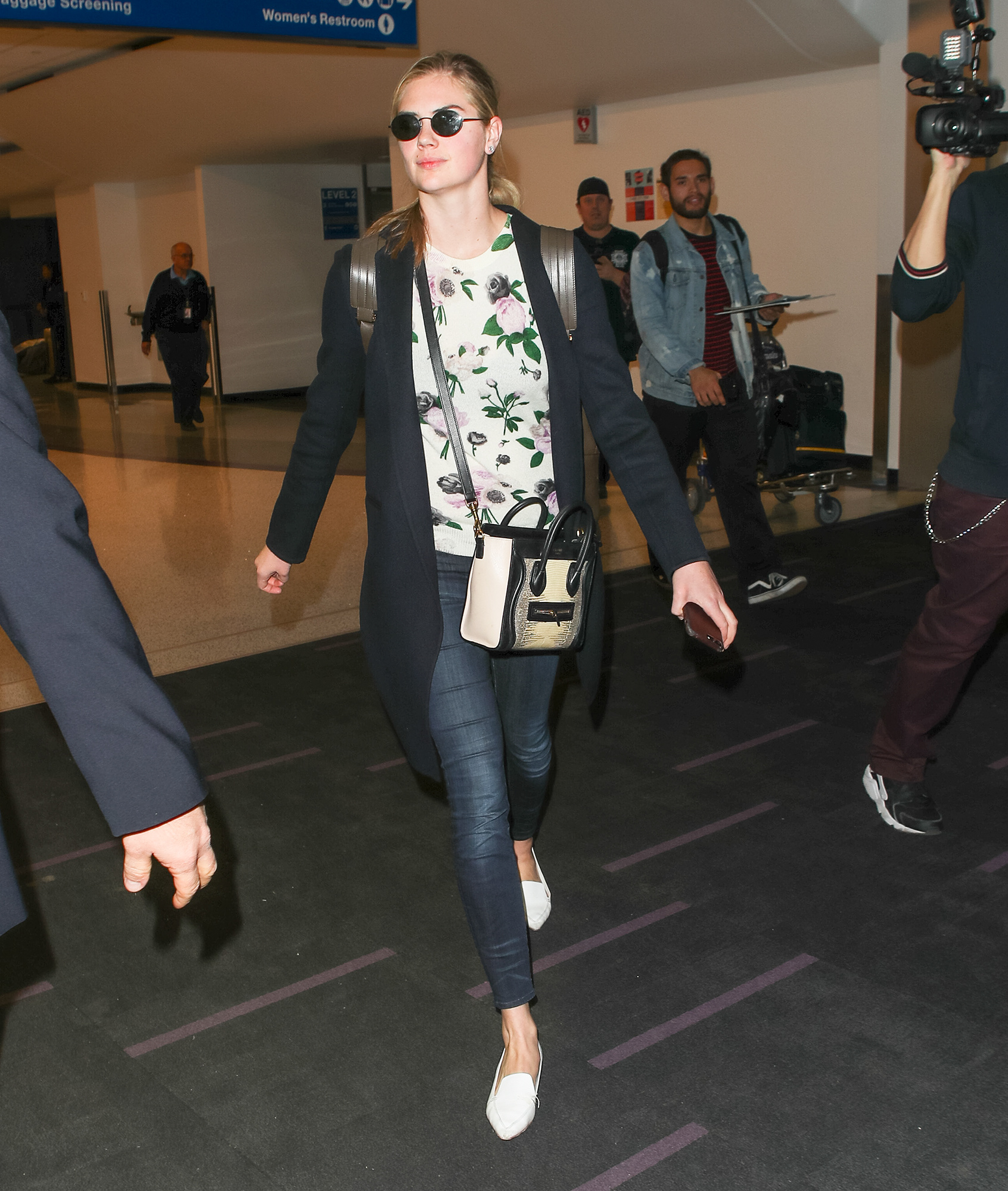 Kate Upton spotted at LAX Airport in Los Angeles
