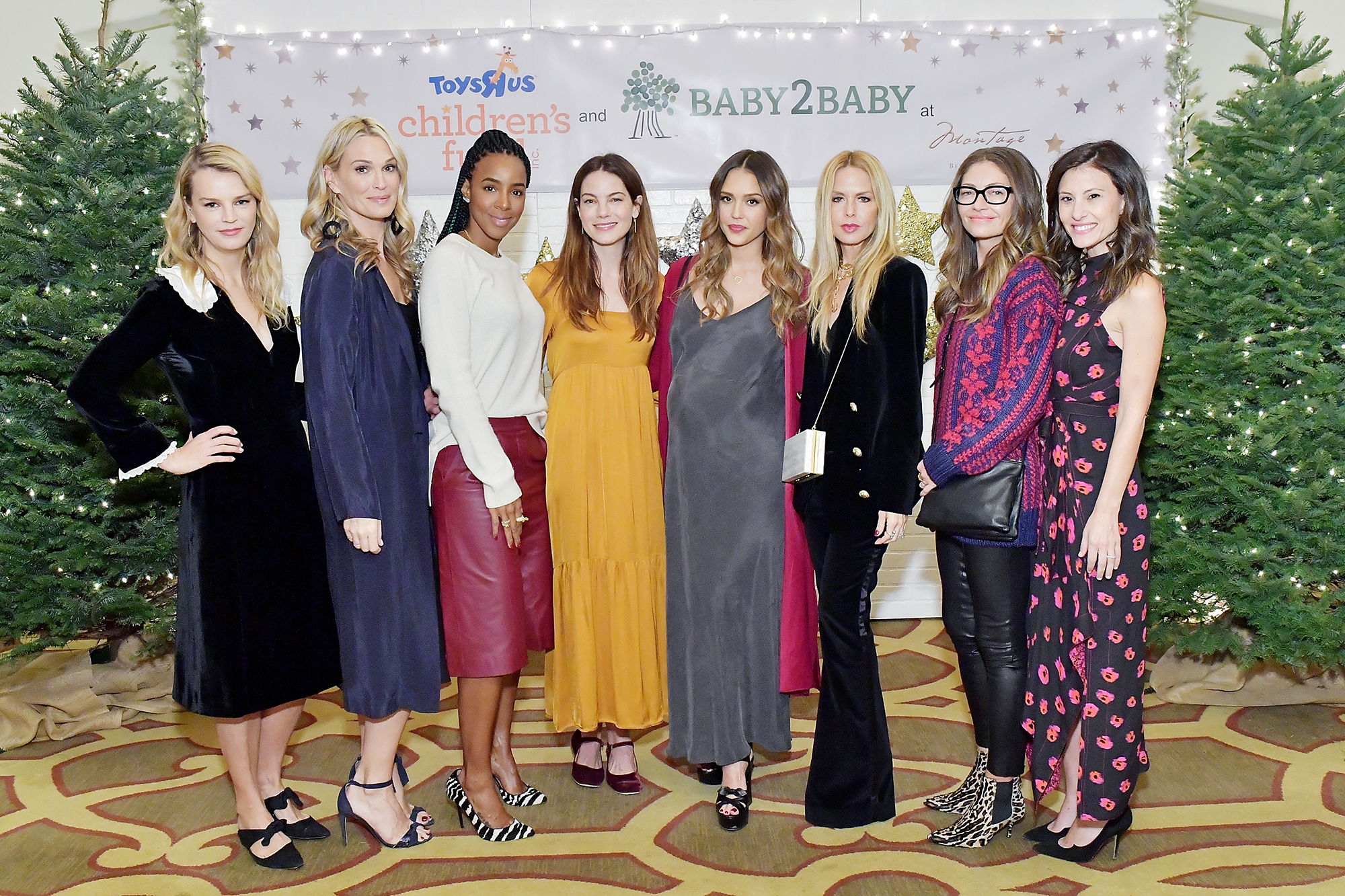 """The Baby2Baby Holiday Party Presented By Toys""""R""""Us At Montage Beverly Hills"""