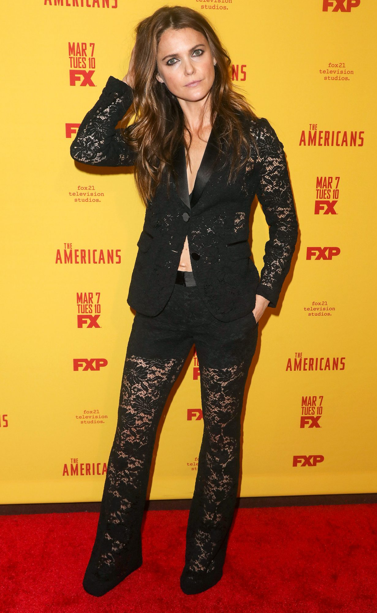 """2/25/17 - New York: Red Carpet Premiere of FX's """"The Americans"""" Season 5"""